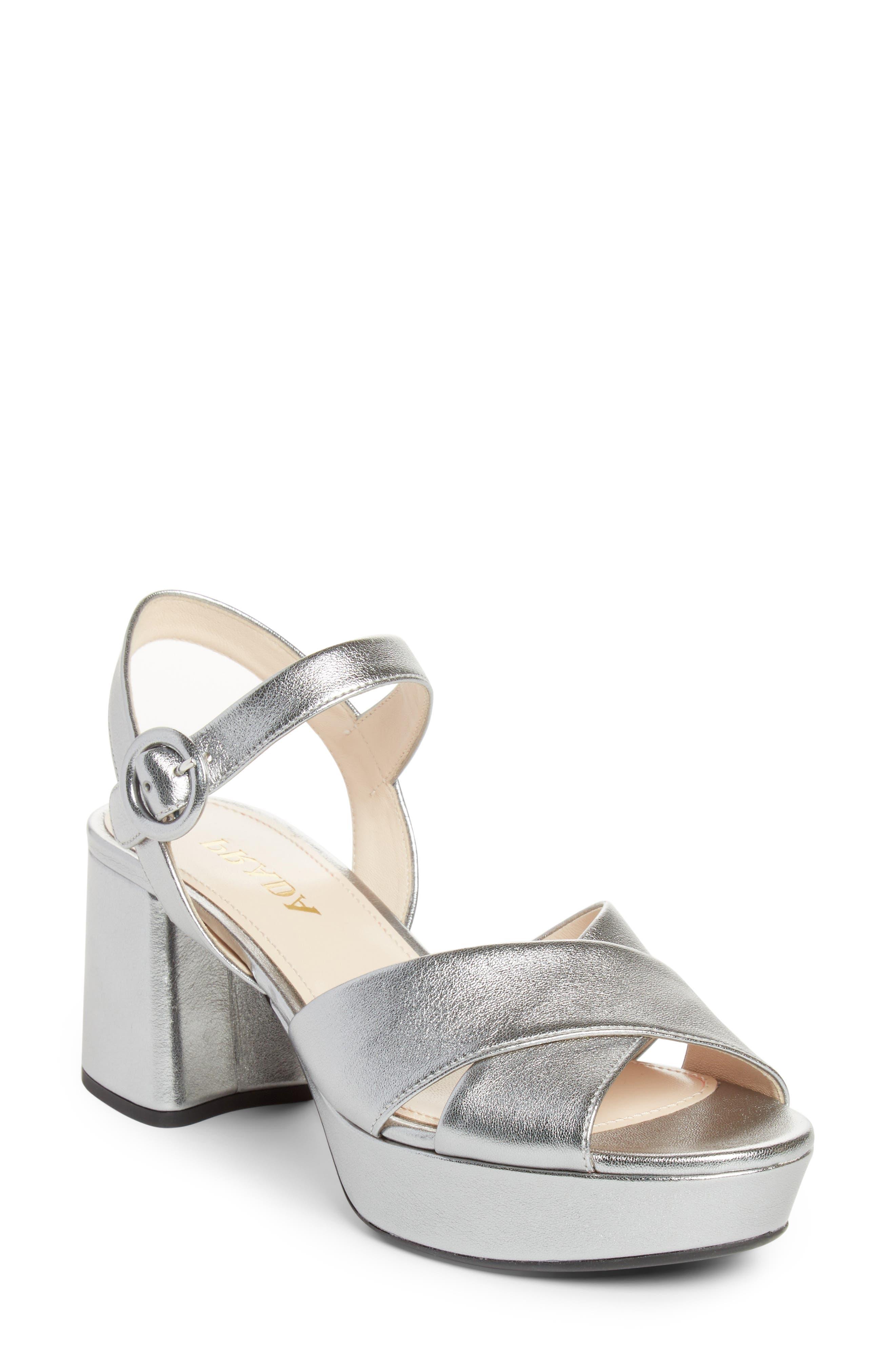 Prada Quarter Strap Platform Sandal (Women)