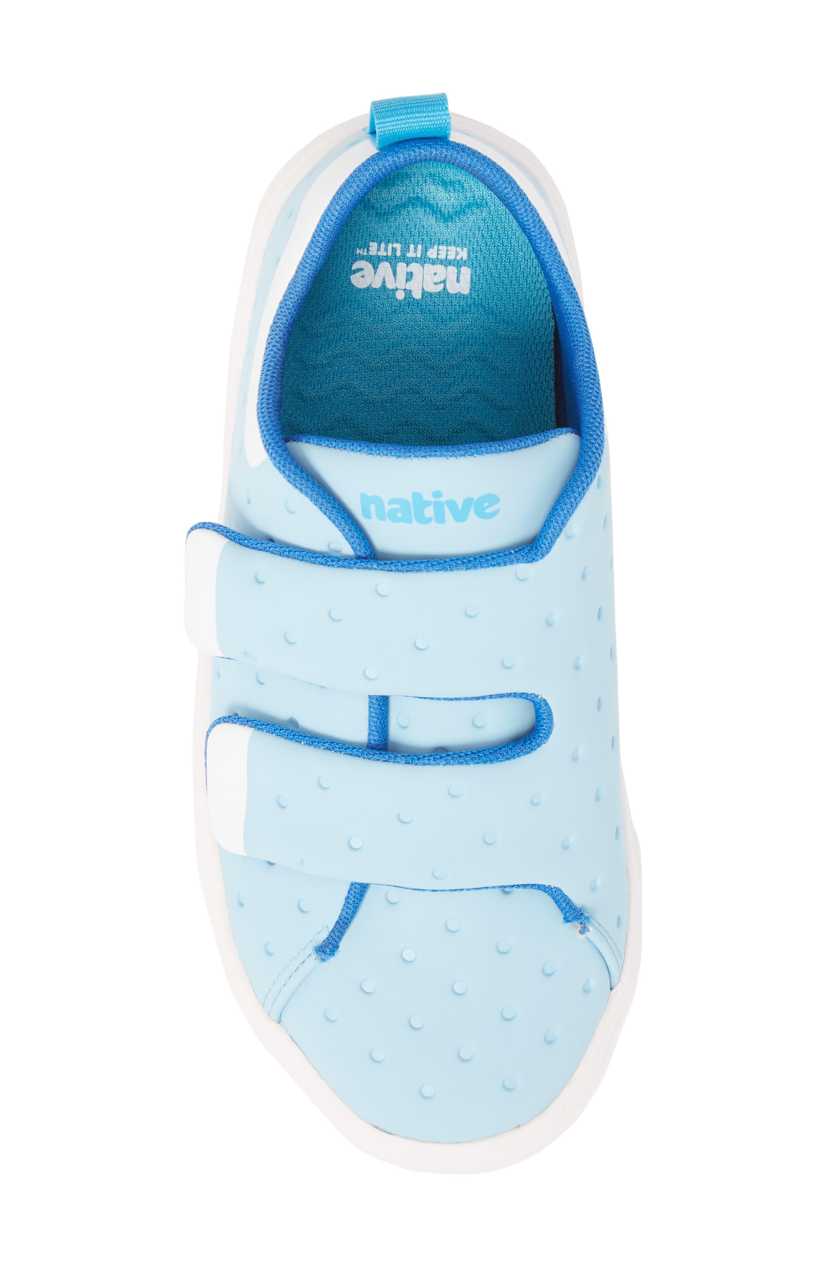 Monaco Sneaker,                             Alternate thumbnail 5, color,                             Sky Blue/ Shell White