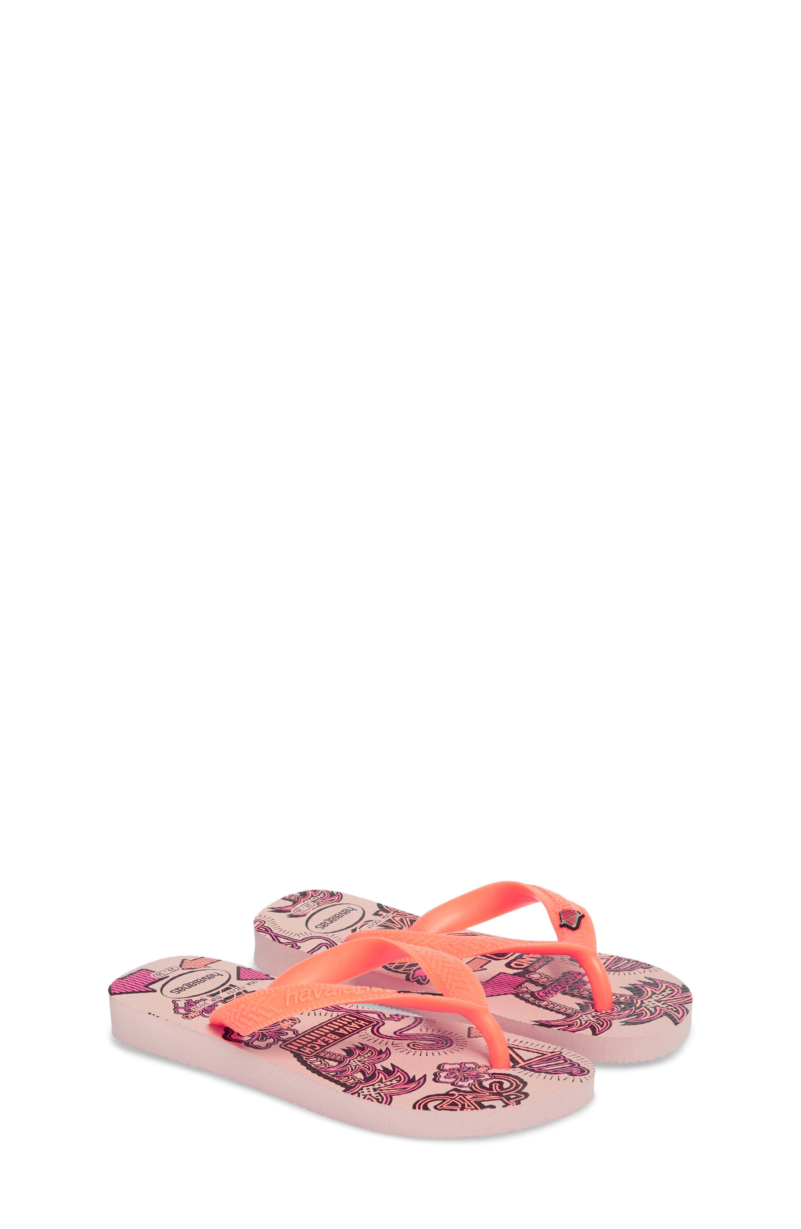 Havianas Fantasy Flip Flop,                             Alternate thumbnail 3, color,                             Pearl Pink