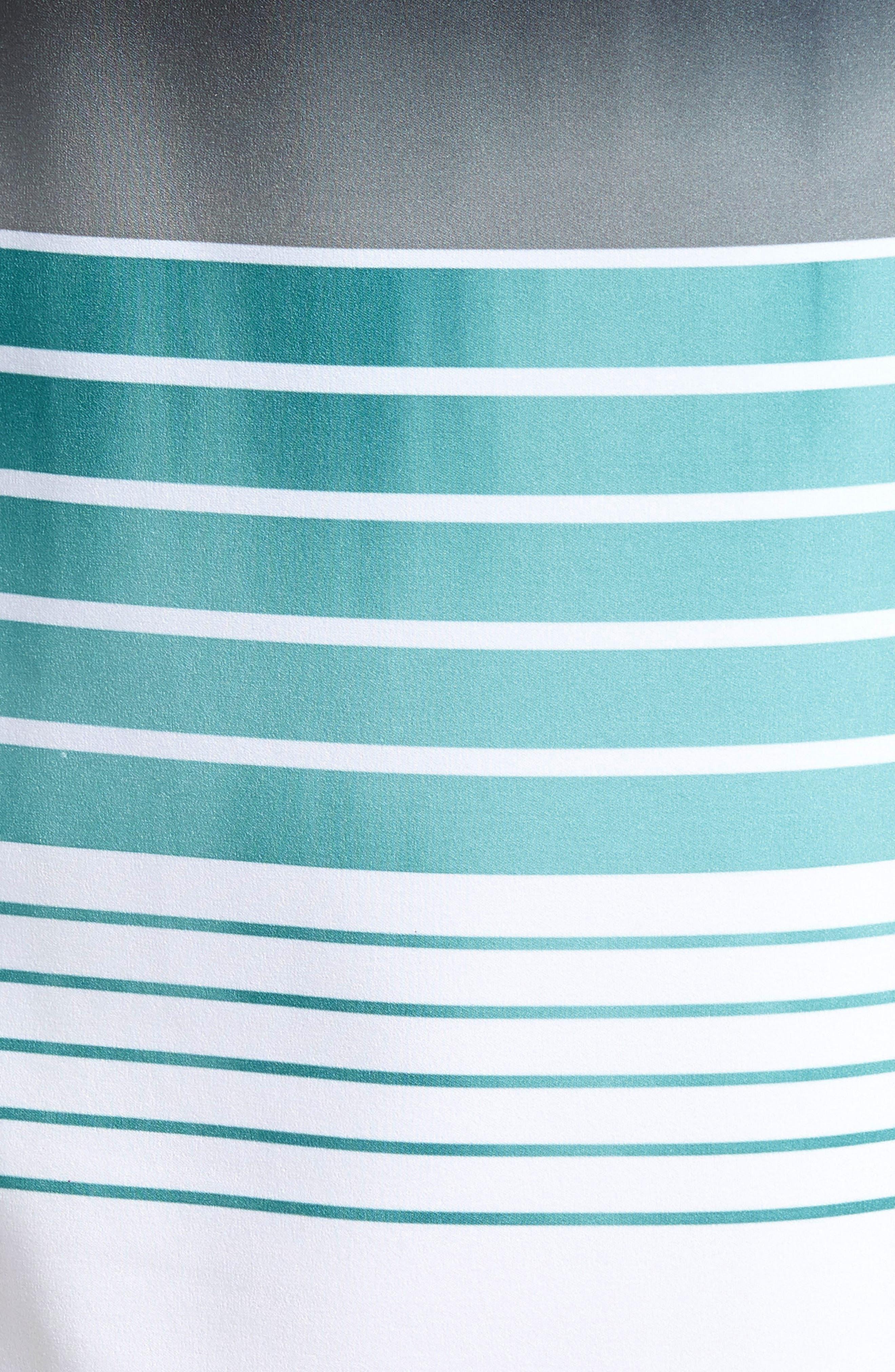 Hyperfreak Heist Board Shorts,                             Alternate thumbnail 4, color,                             Turquoise