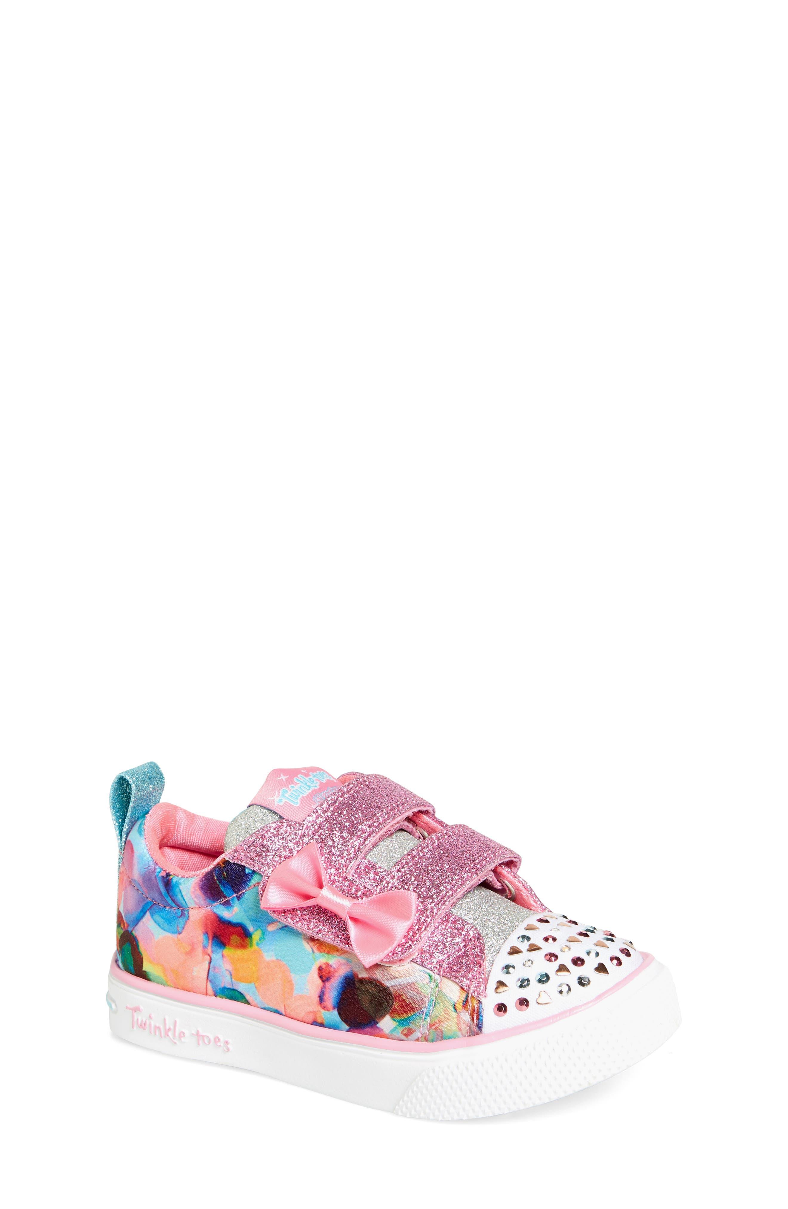 SKECHERS Twinkle Breeze 2.0 Princess Sneaker (Toddler & Walker)