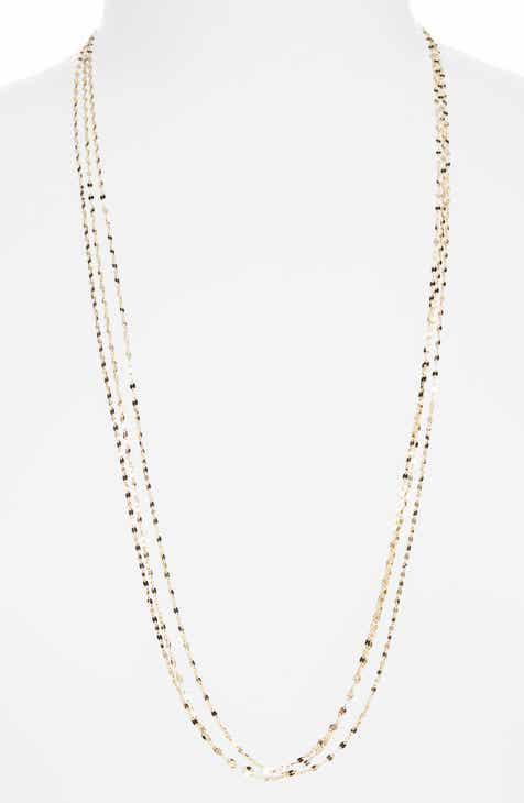 gold chain in shop circle station fpx necklaces jewelry product braided necklace