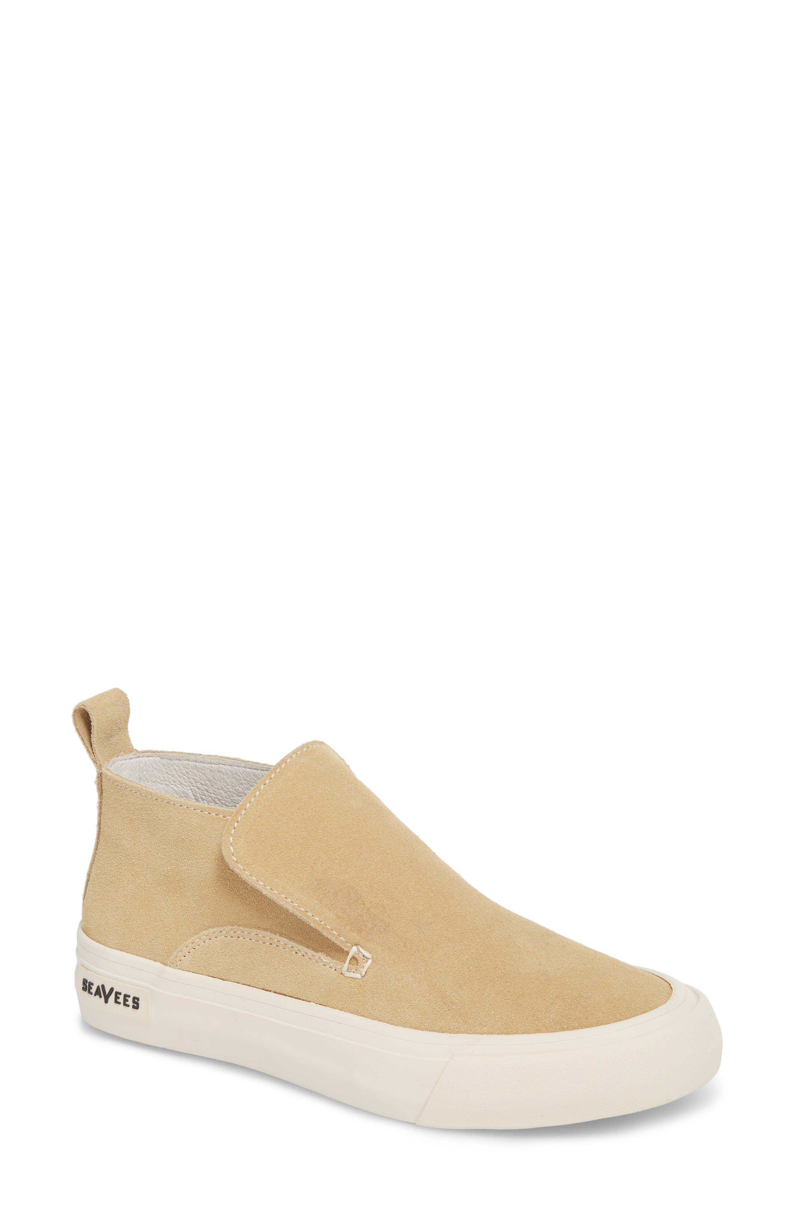 Huntington Middie Slip-On Sneaker,                             Main thumbnail 1, color,                             Dune