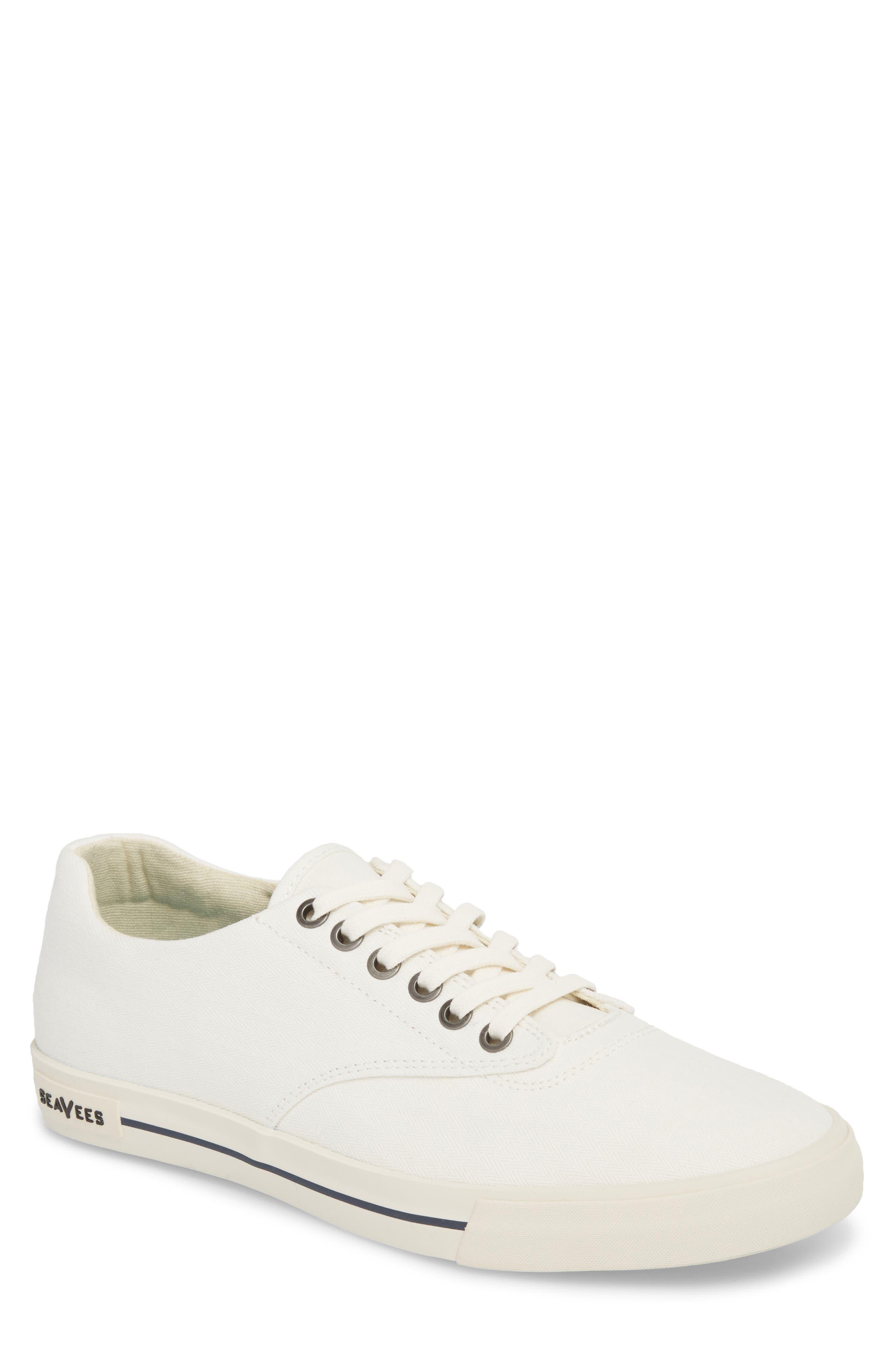 Hermosa Plimsoll Sneaker,                             Main thumbnail 1, color,                             Bleach White