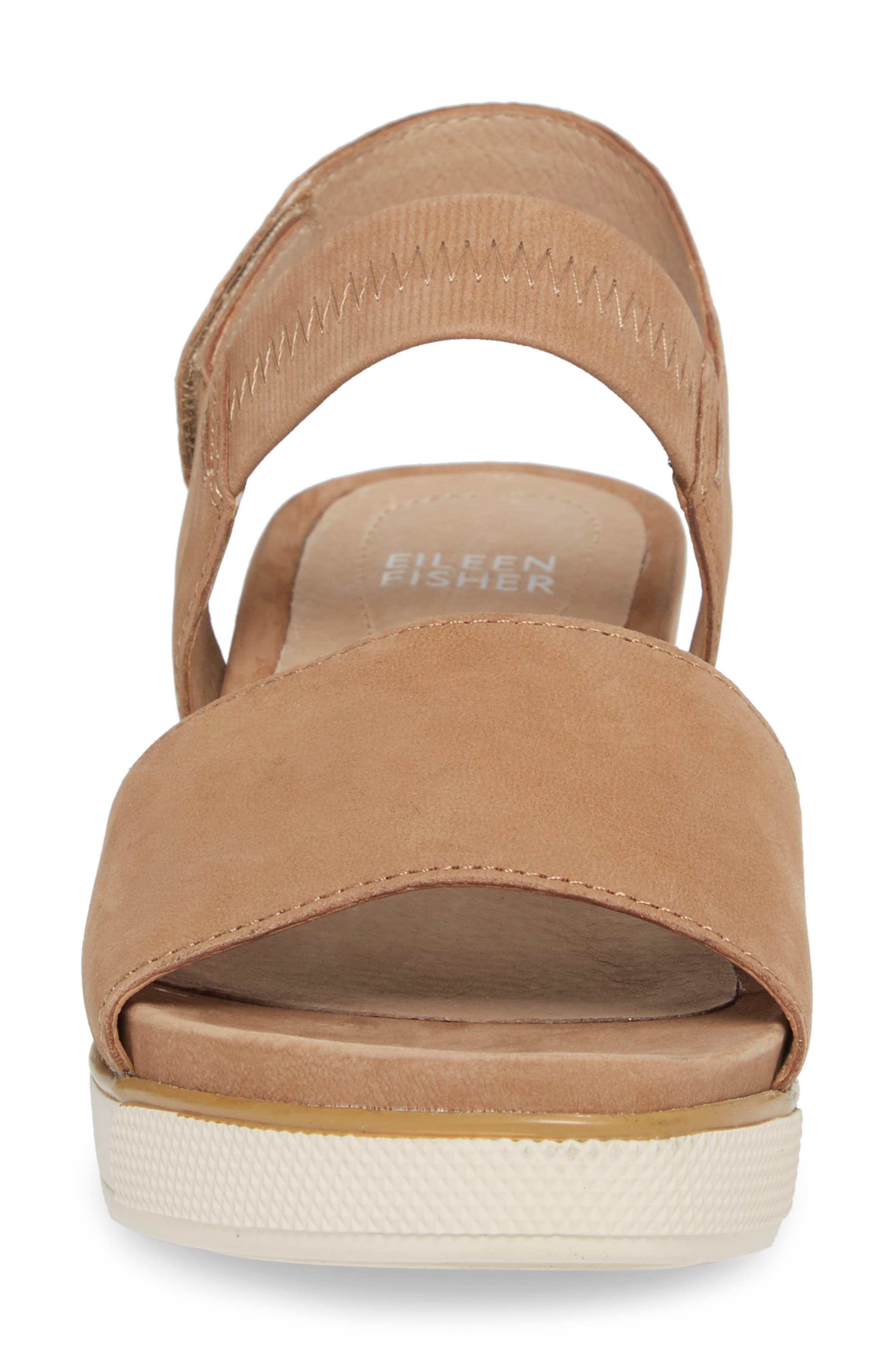 Somer Sandal,                             Alternate thumbnail 4, color,                             Wheat Nubuck
