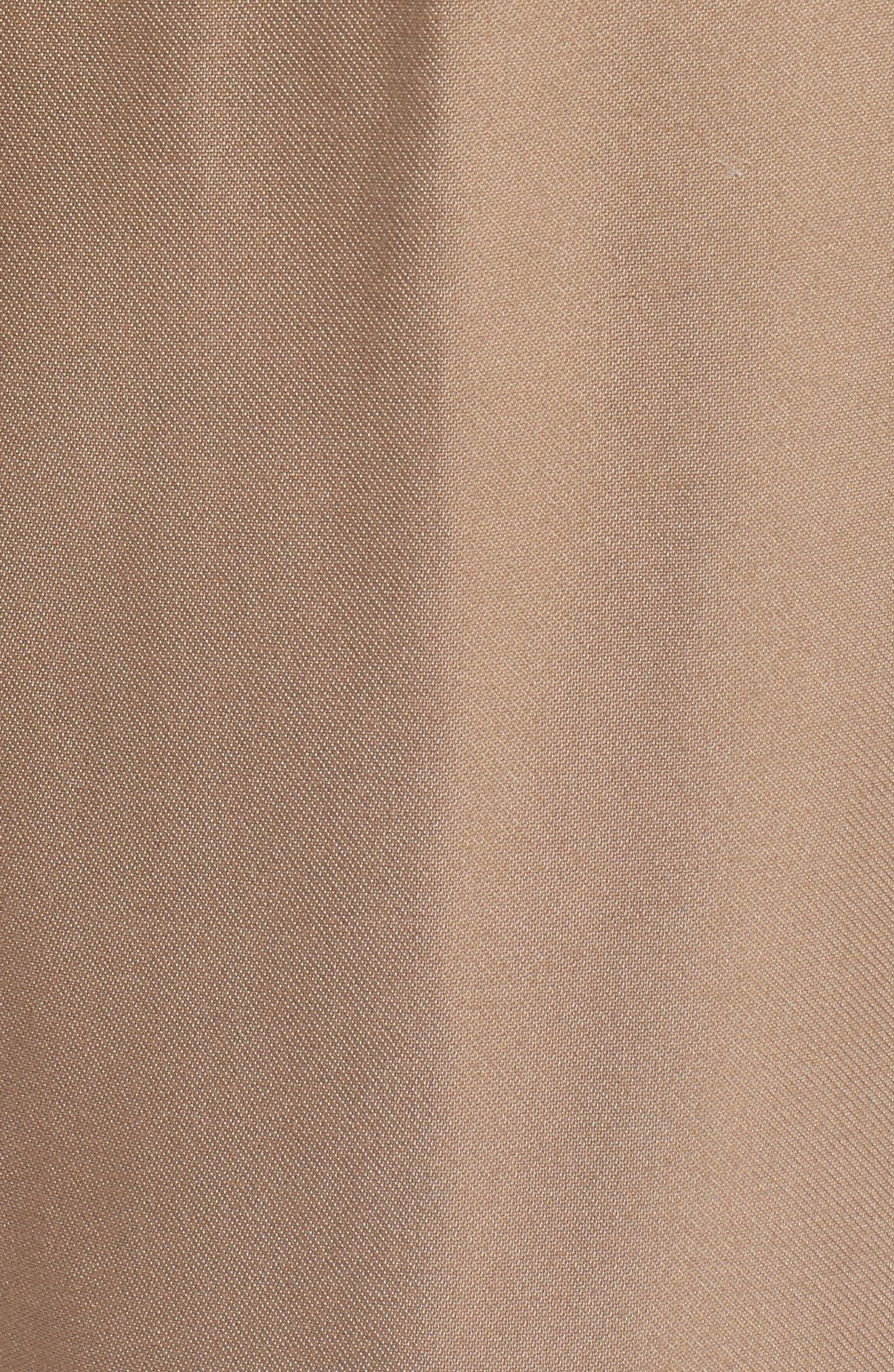 Pull-On Ankle Pants,                             Alternate thumbnail 5, color,                             Tan Greige