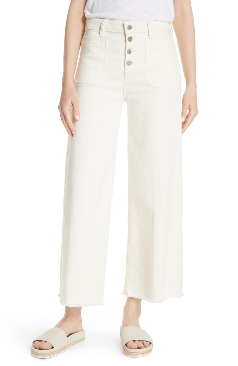 Carmine Wide Leg Crop Jeans