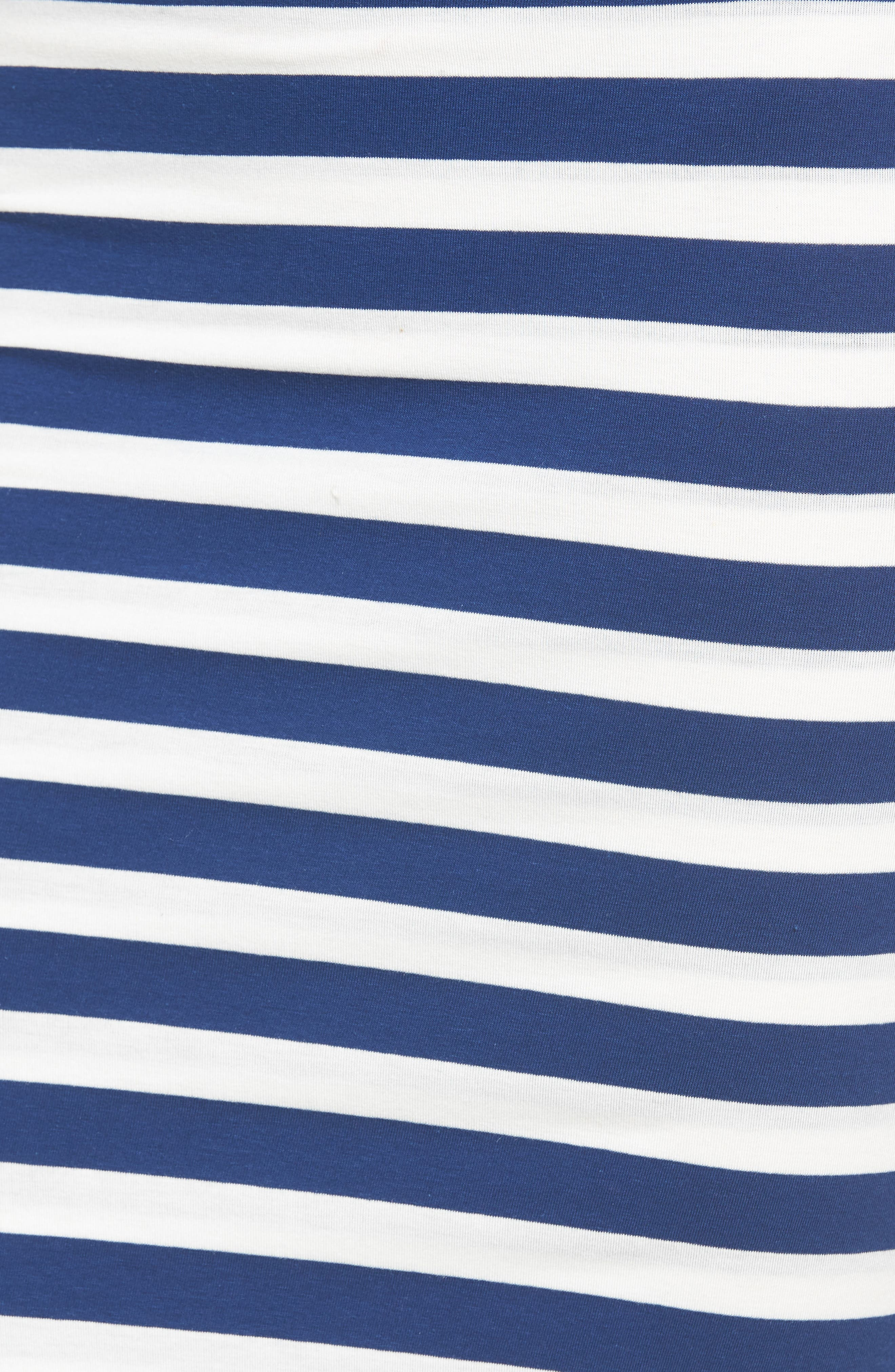 x Hi Sugarplum! Fornillo Pencil Skirt,                             Alternate thumbnail 6, color,                             Blue Stripe