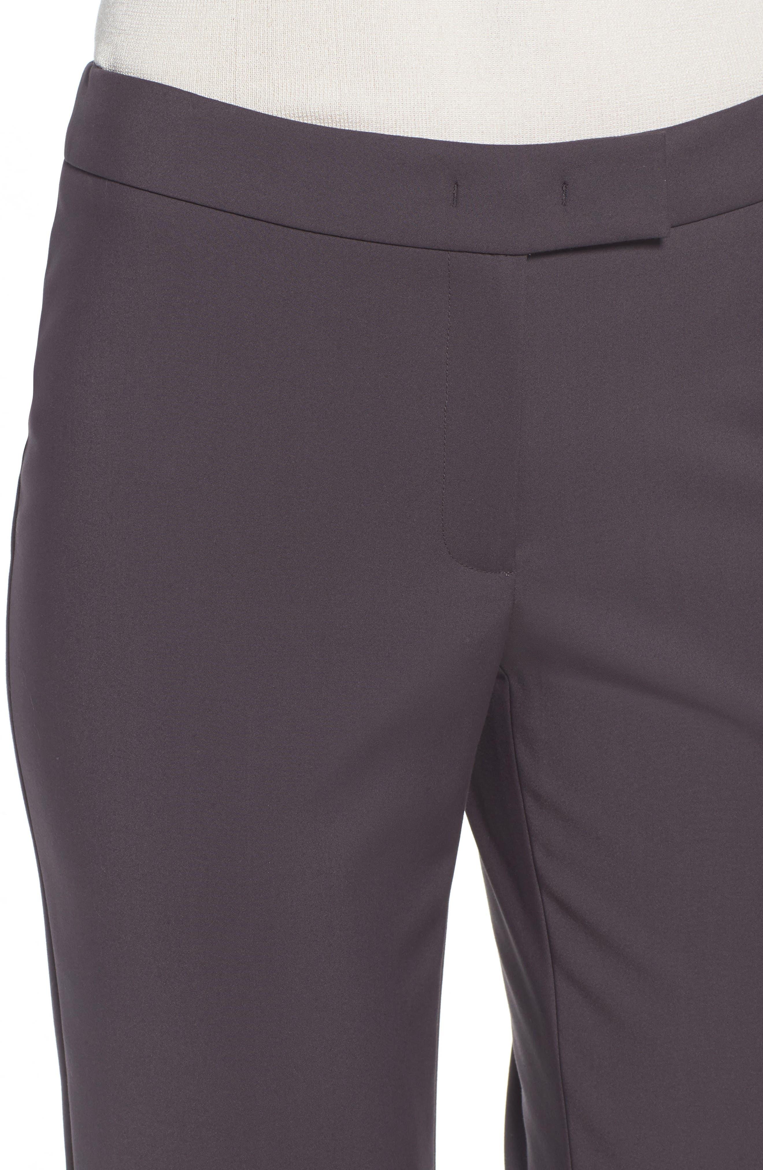 Slim Ankle Pants,                             Alternate thumbnail 4, color,                             Nantucket Grey
