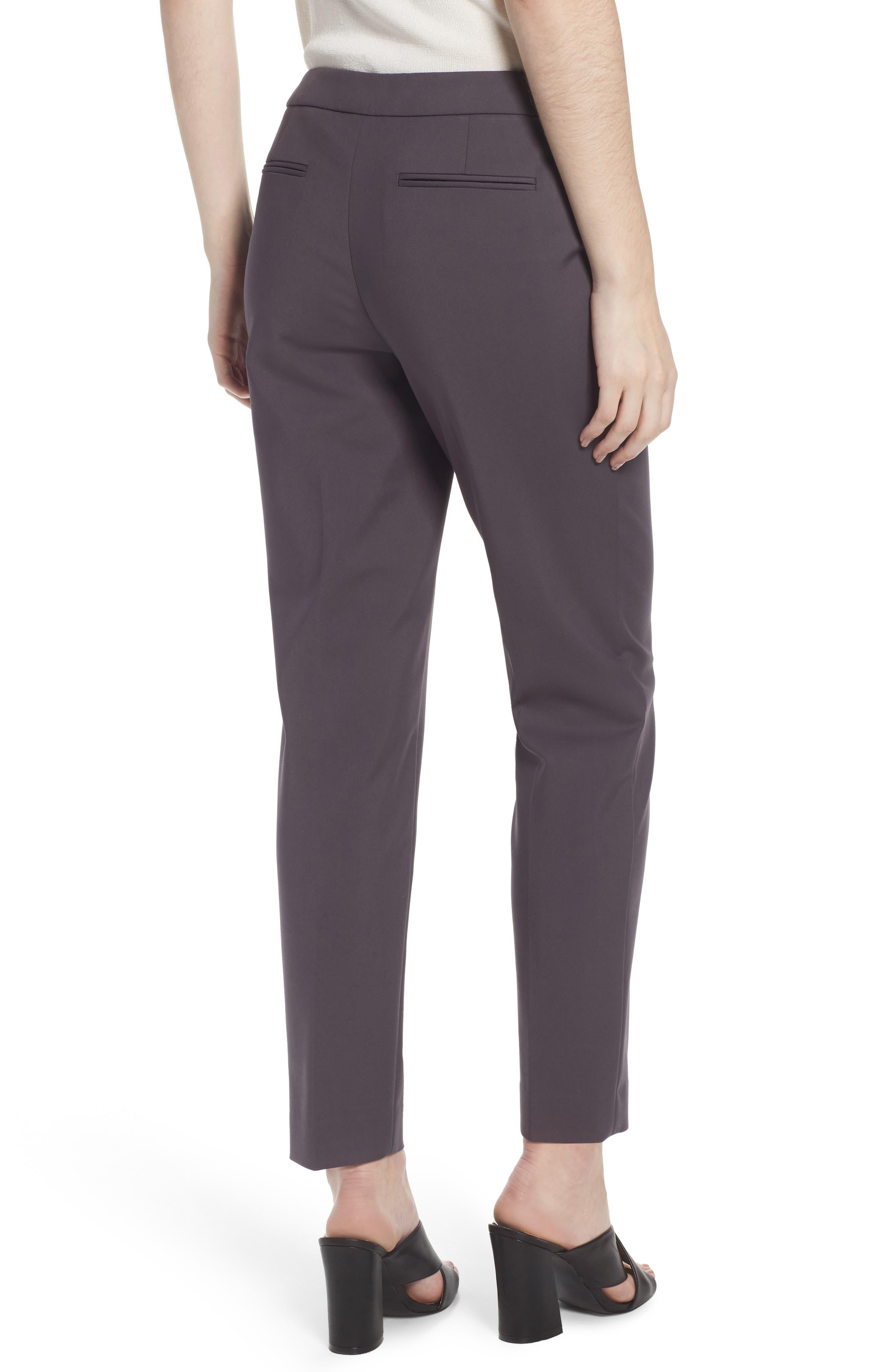 Slim Ankle Pants,                             Alternate thumbnail 2, color,                             Nantucket Grey