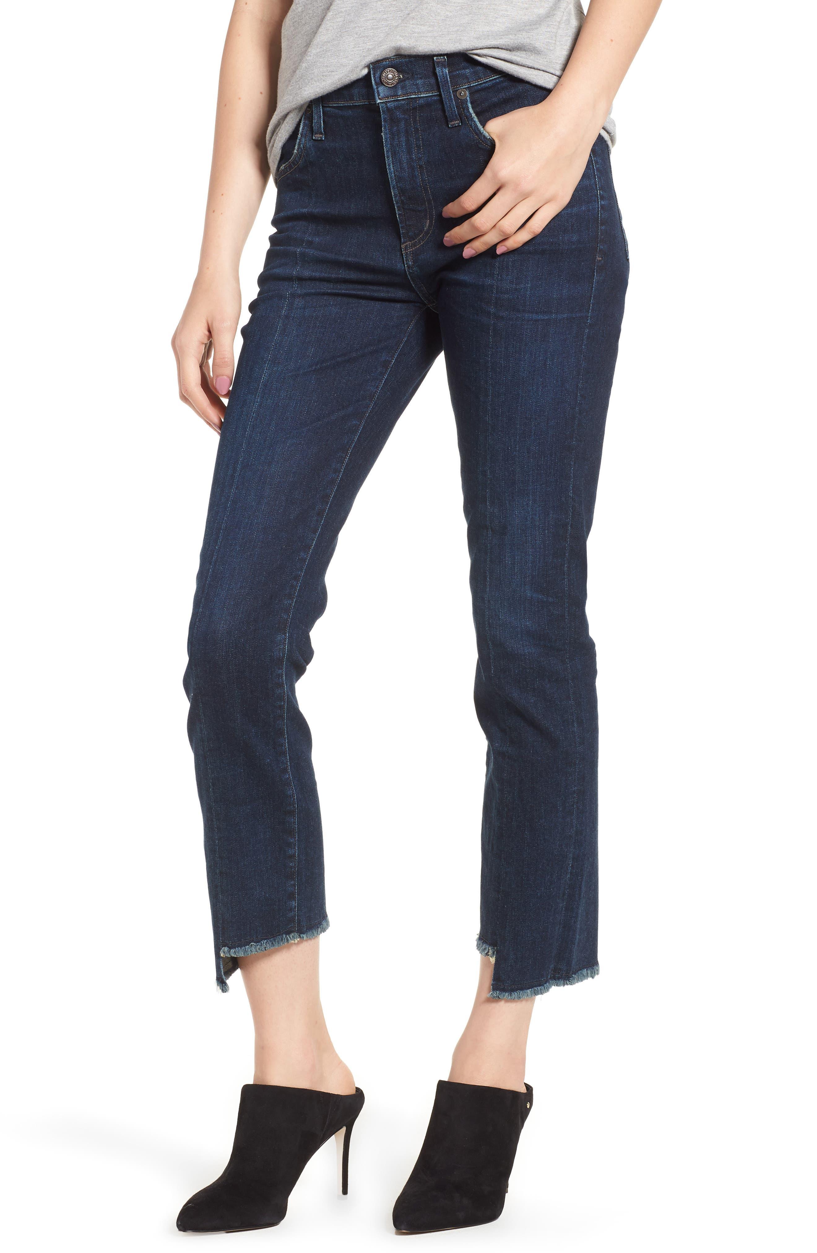 Amari Ankle Skinny Jeans,                             Main thumbnail 1, color,                             Maya