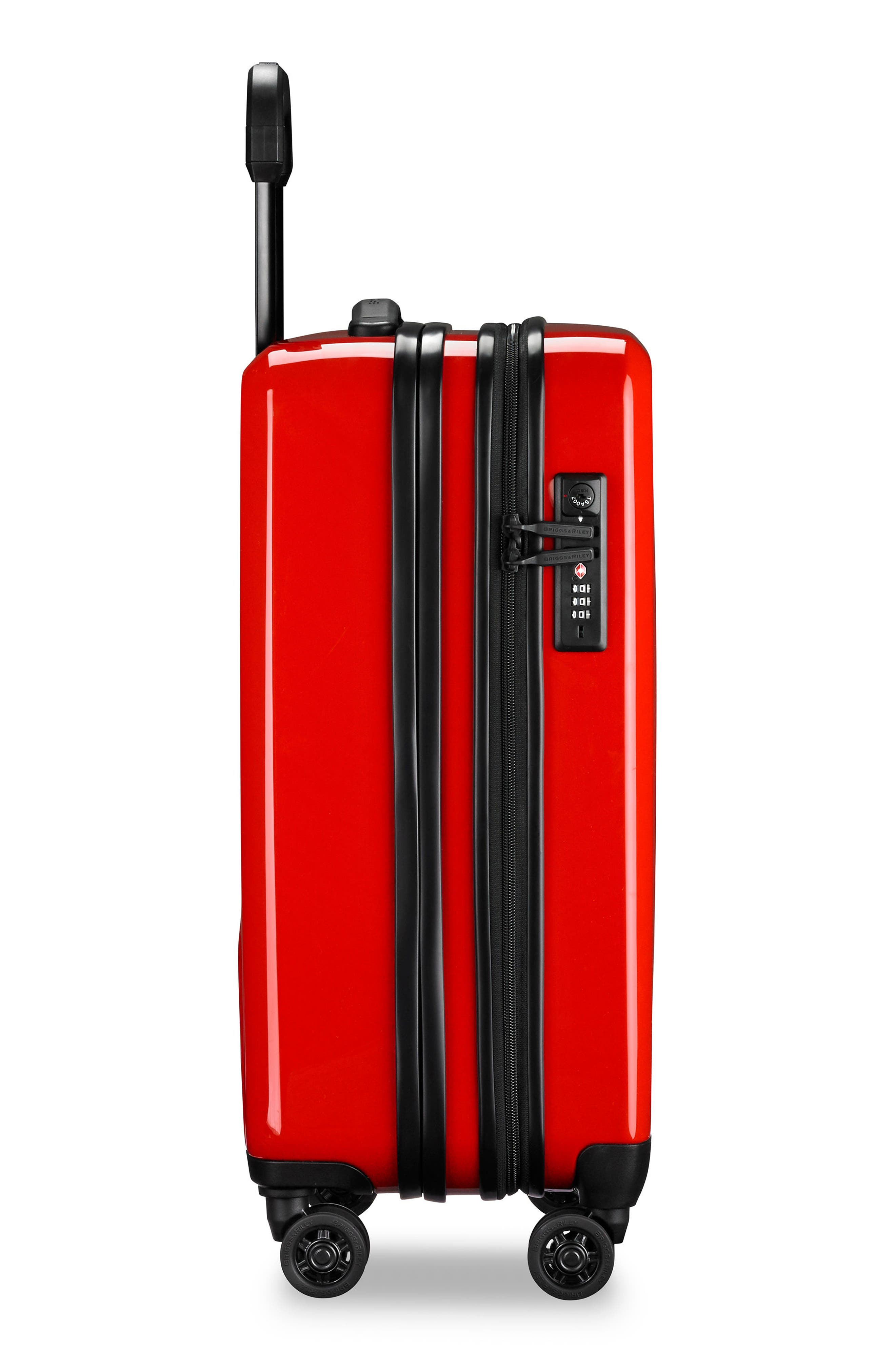 Domestic Expandable Spinner Wheeled Carry-On,                             Alternate thumbnail 7, color,                             Fire