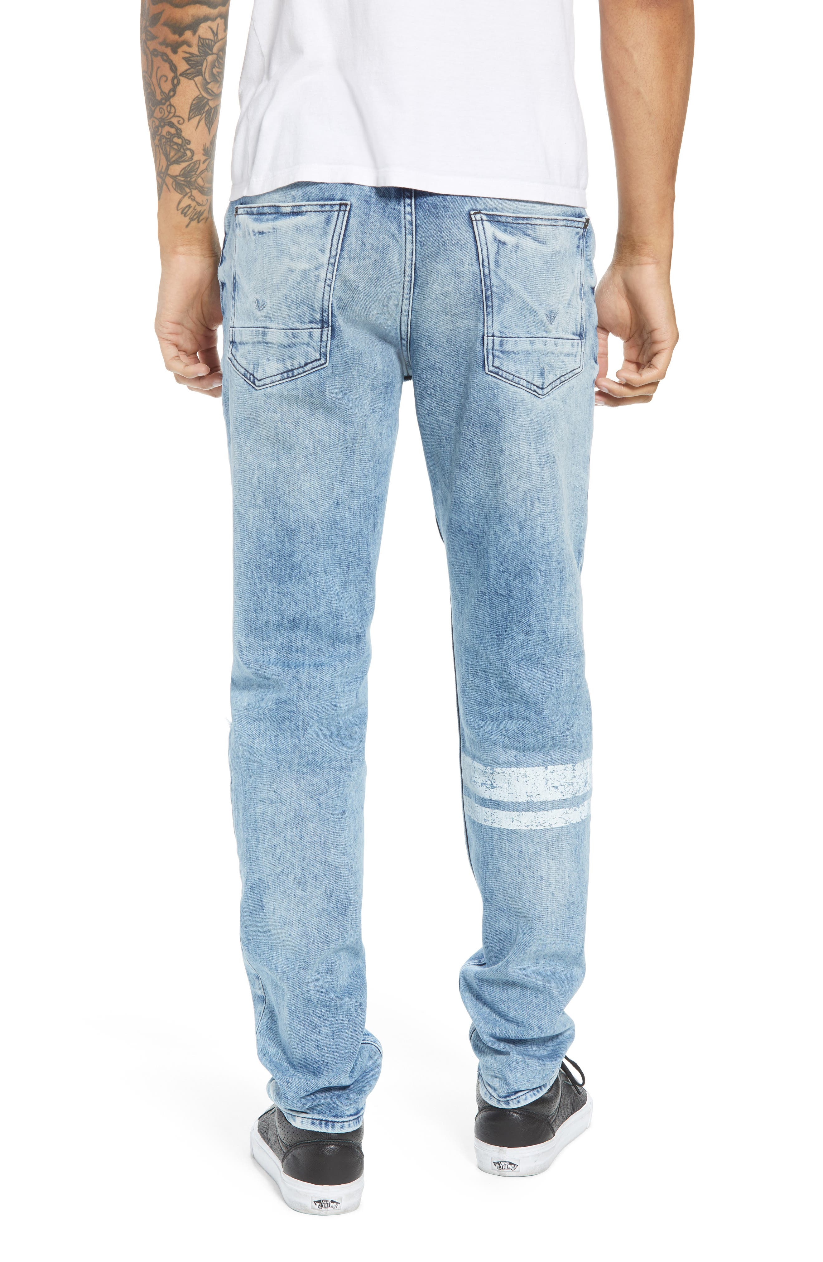 Sartor Slouchy Skinny Fit Jeans,                             Alternate thumbnail 2, color,                             Wild Nothing