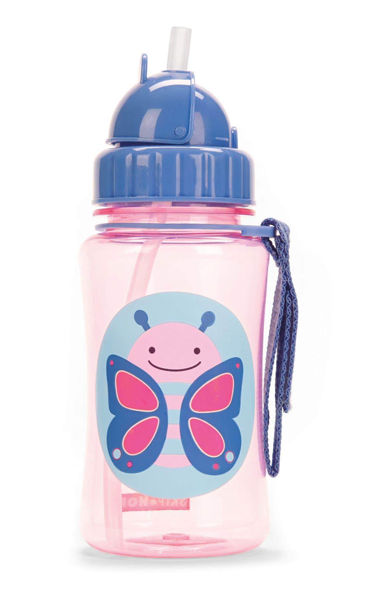 Skip Hop Straw Bottle (Kids)