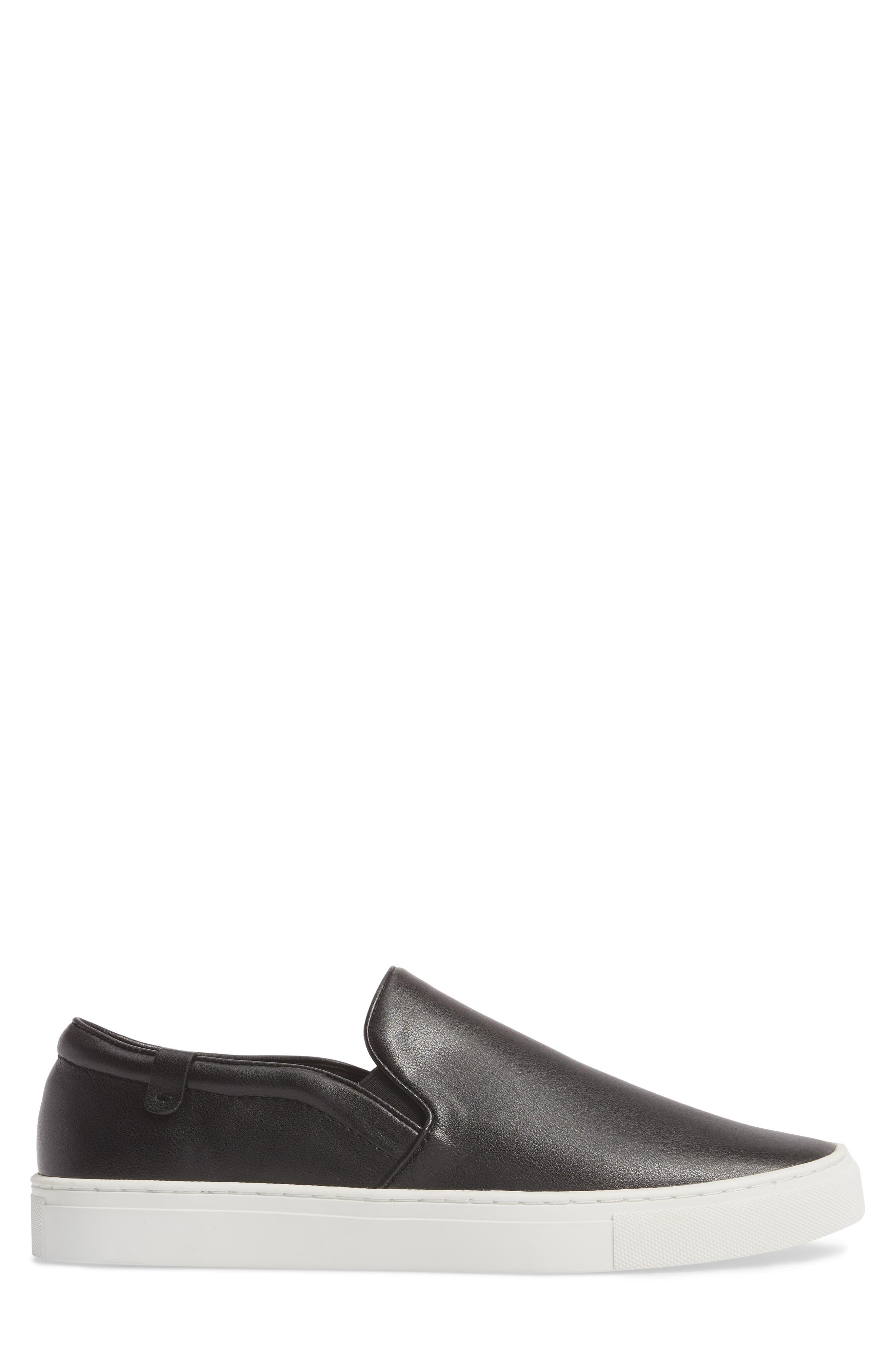 Original Slip-On Sneaker,                             Alternate thumbnail 3, color,                             Black