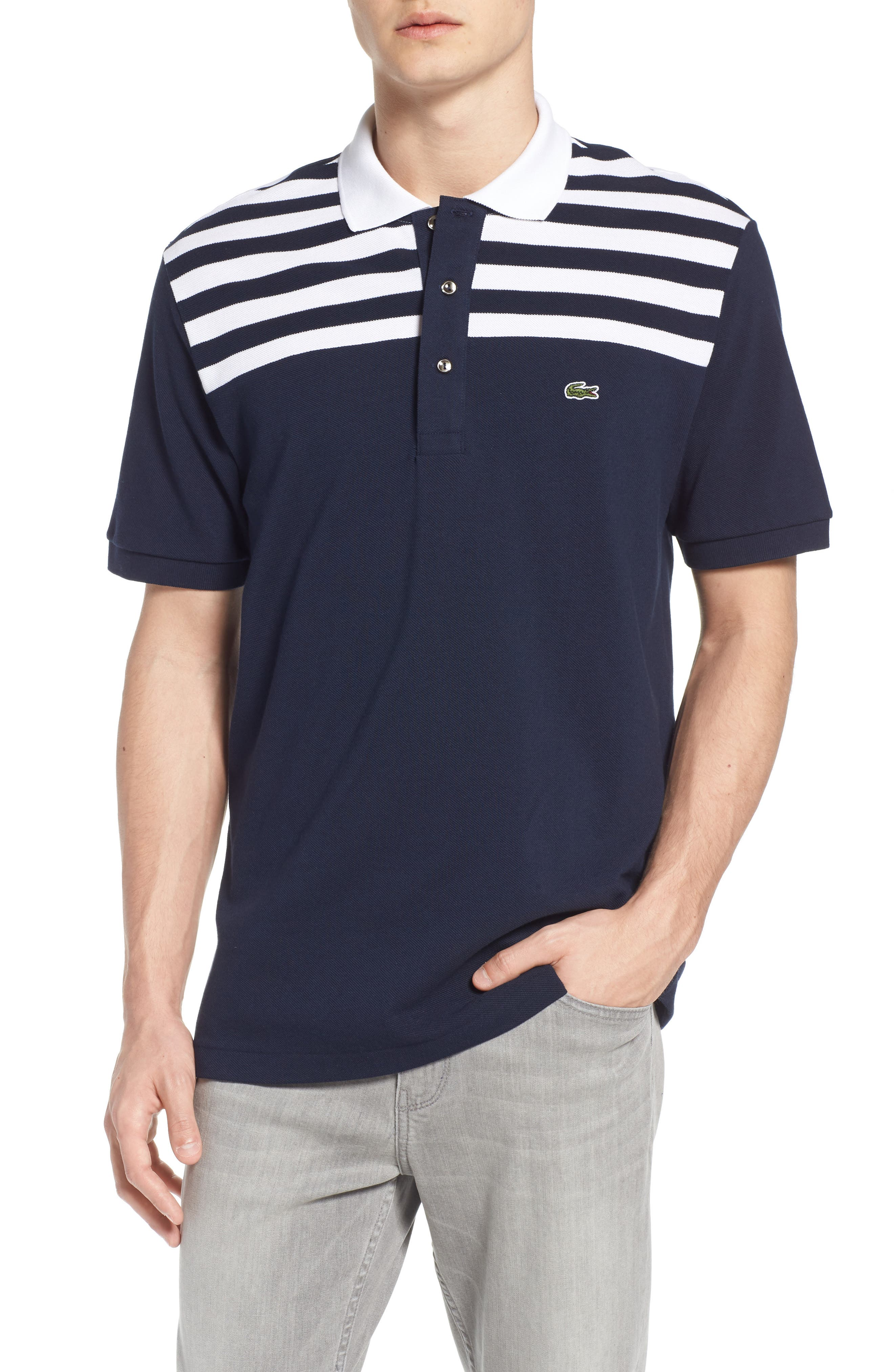Alternate Image 1 Selected - Lacoste 85th Anniversary Polo