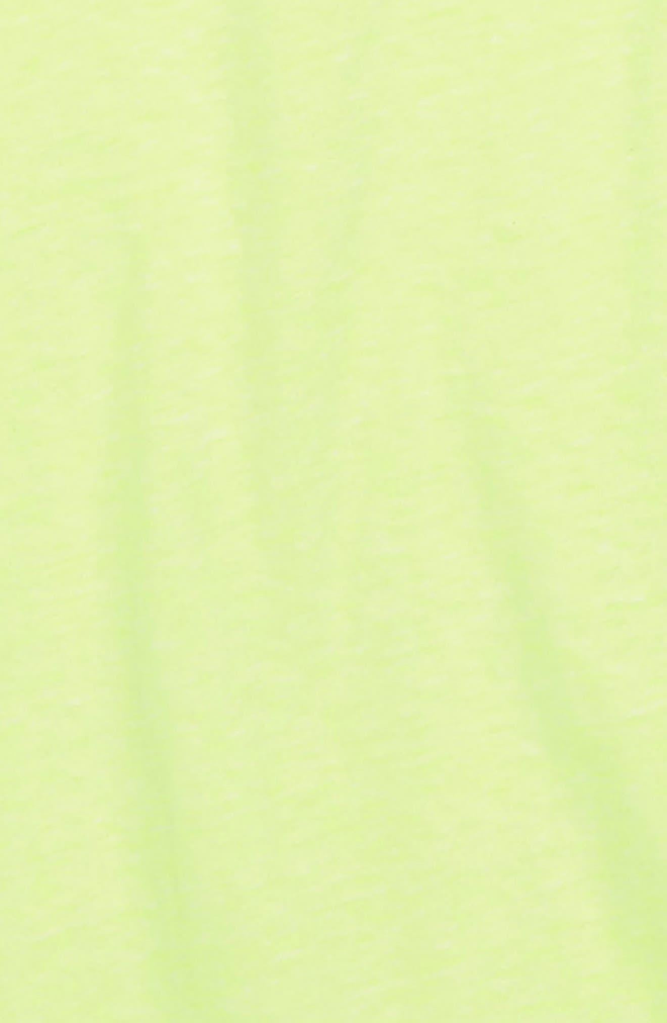 Short Sleeve Henley,                             Alternate thumbnail 2, color,                             Neon Lemon