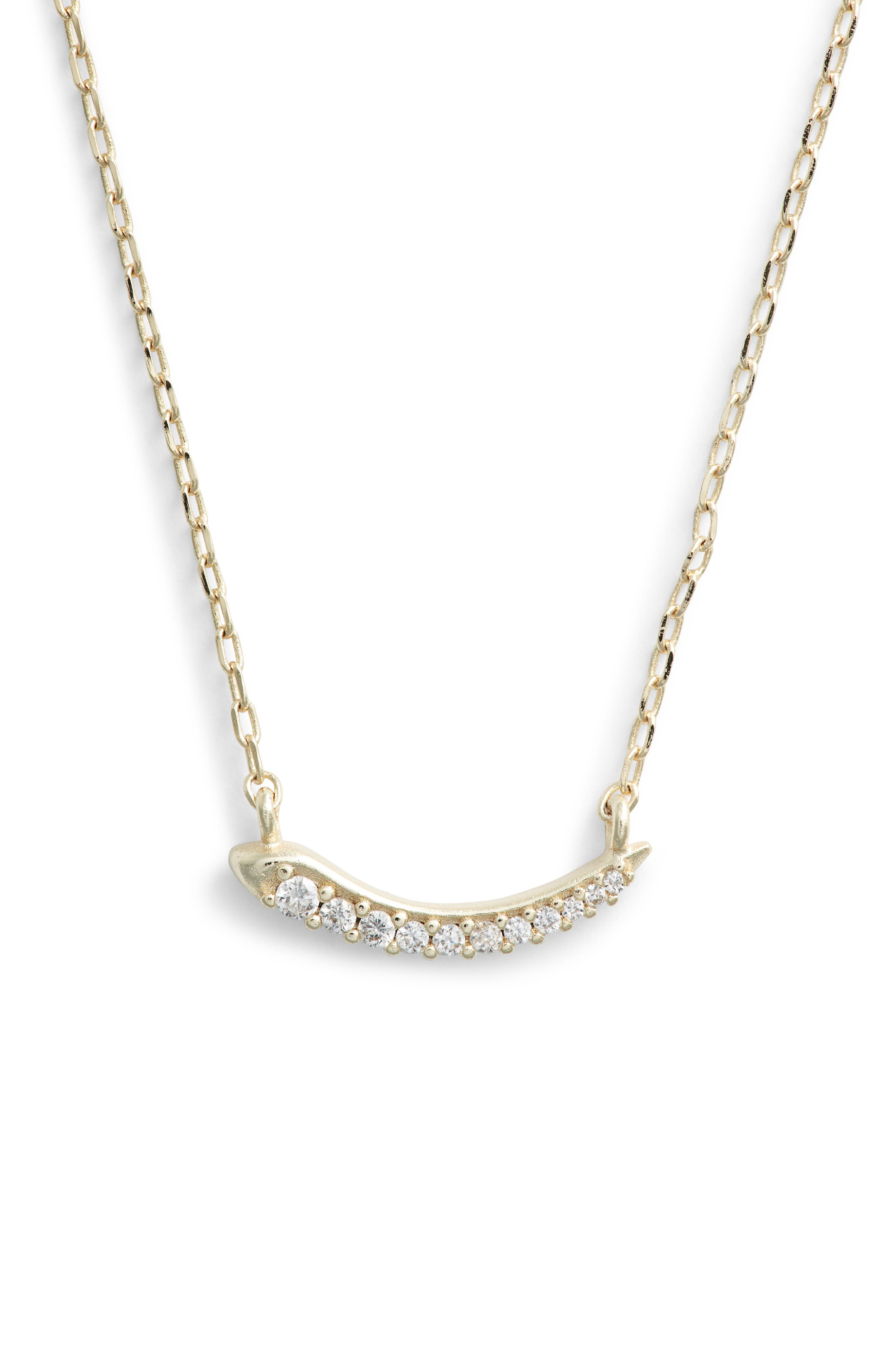 Whitlee Pendant Necklace,                             Main thumbnail 1, color,                             Gold