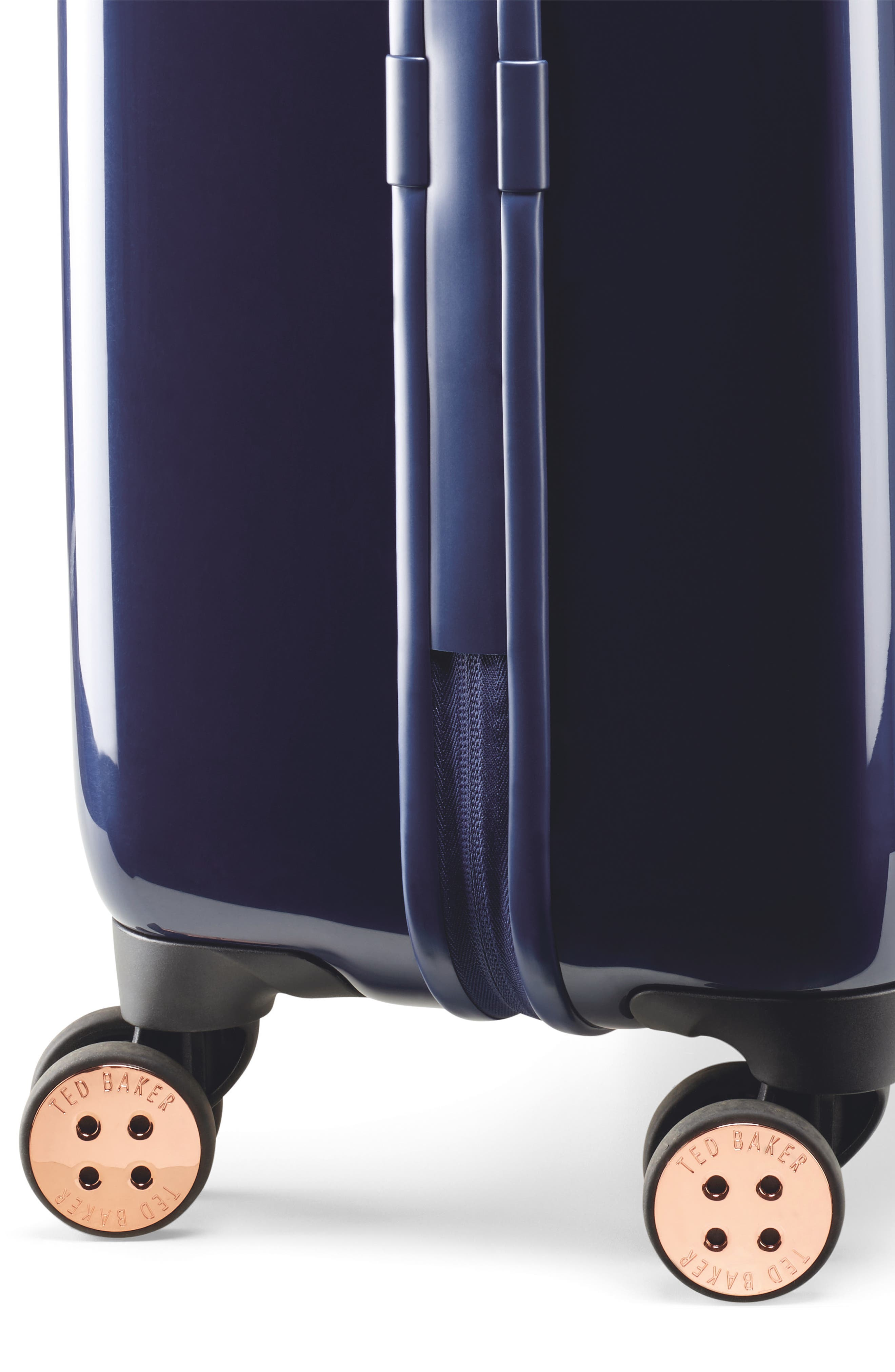 Small Balmoral 21-Inch Spinner Carry-On,                             Alternate thumbnail 3, color,                             Purple