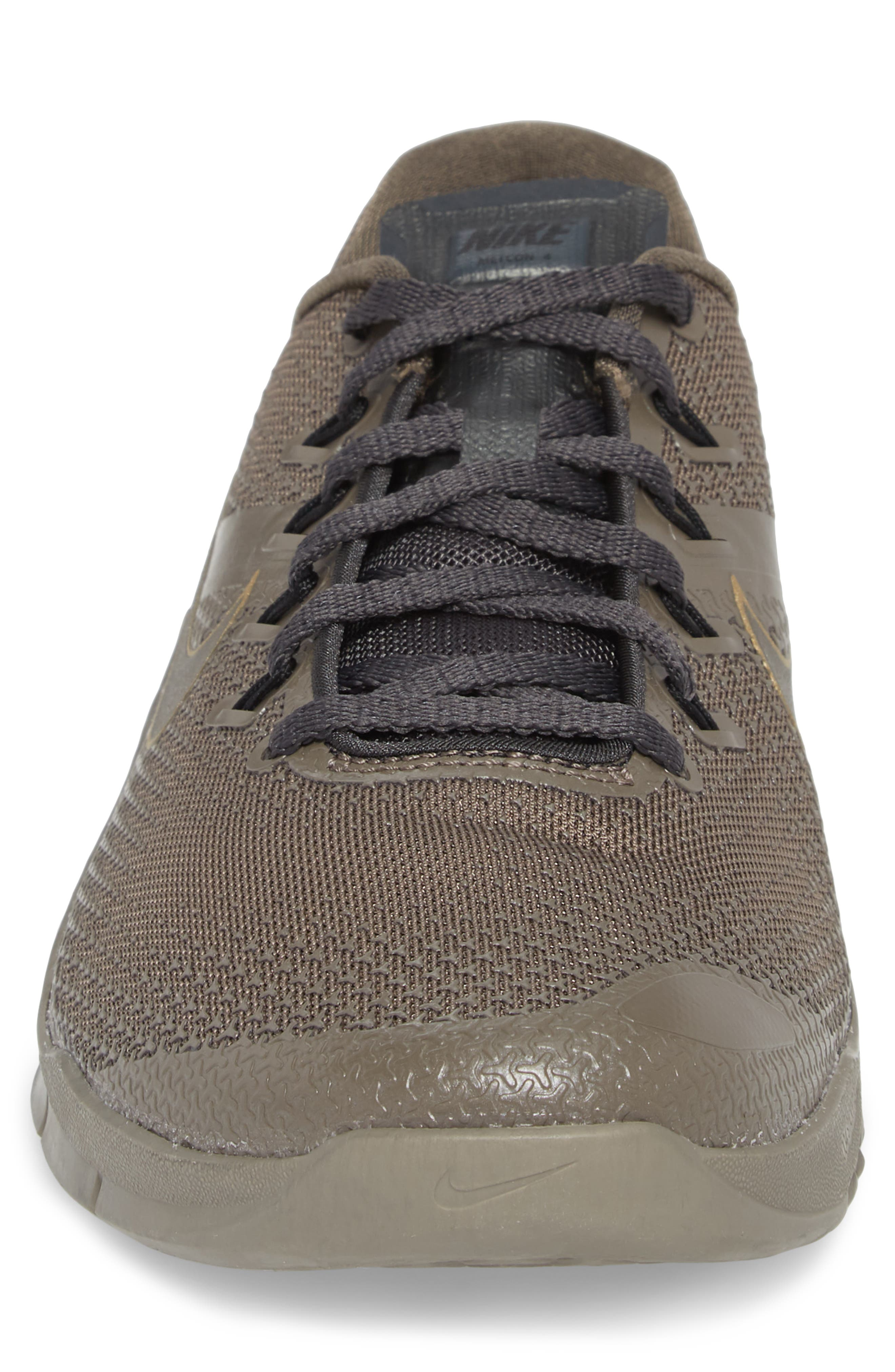 Metcon 4 Viking Quest Training Shoe,                             Alternate thumbnail 4, color,                             Ridgerock/ Pewter/ Anthracite