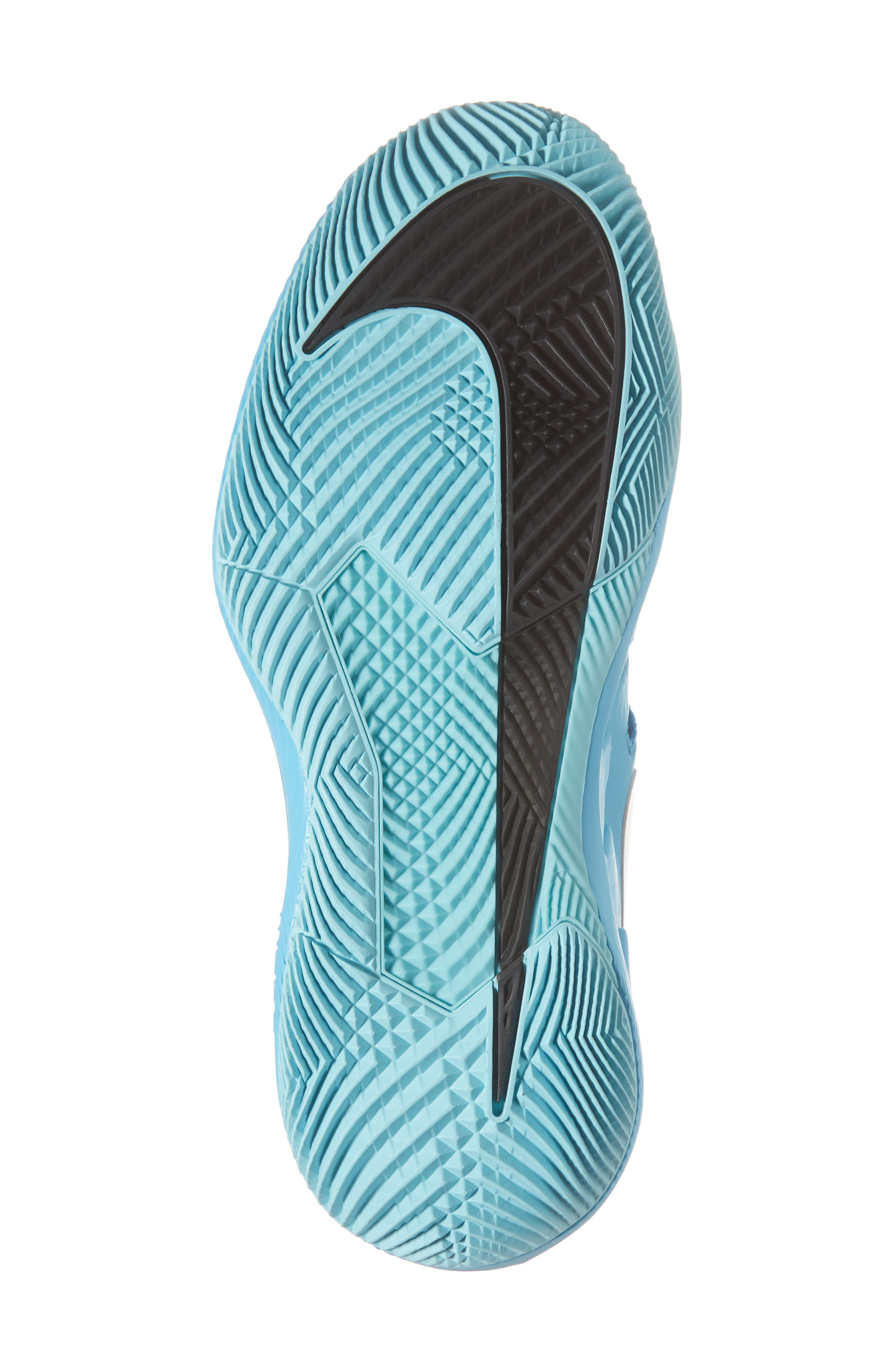 Air Zoom Vapor X Tennis Shoe,                             Alternate thumbnail 6, color,                             Light Blue Fury