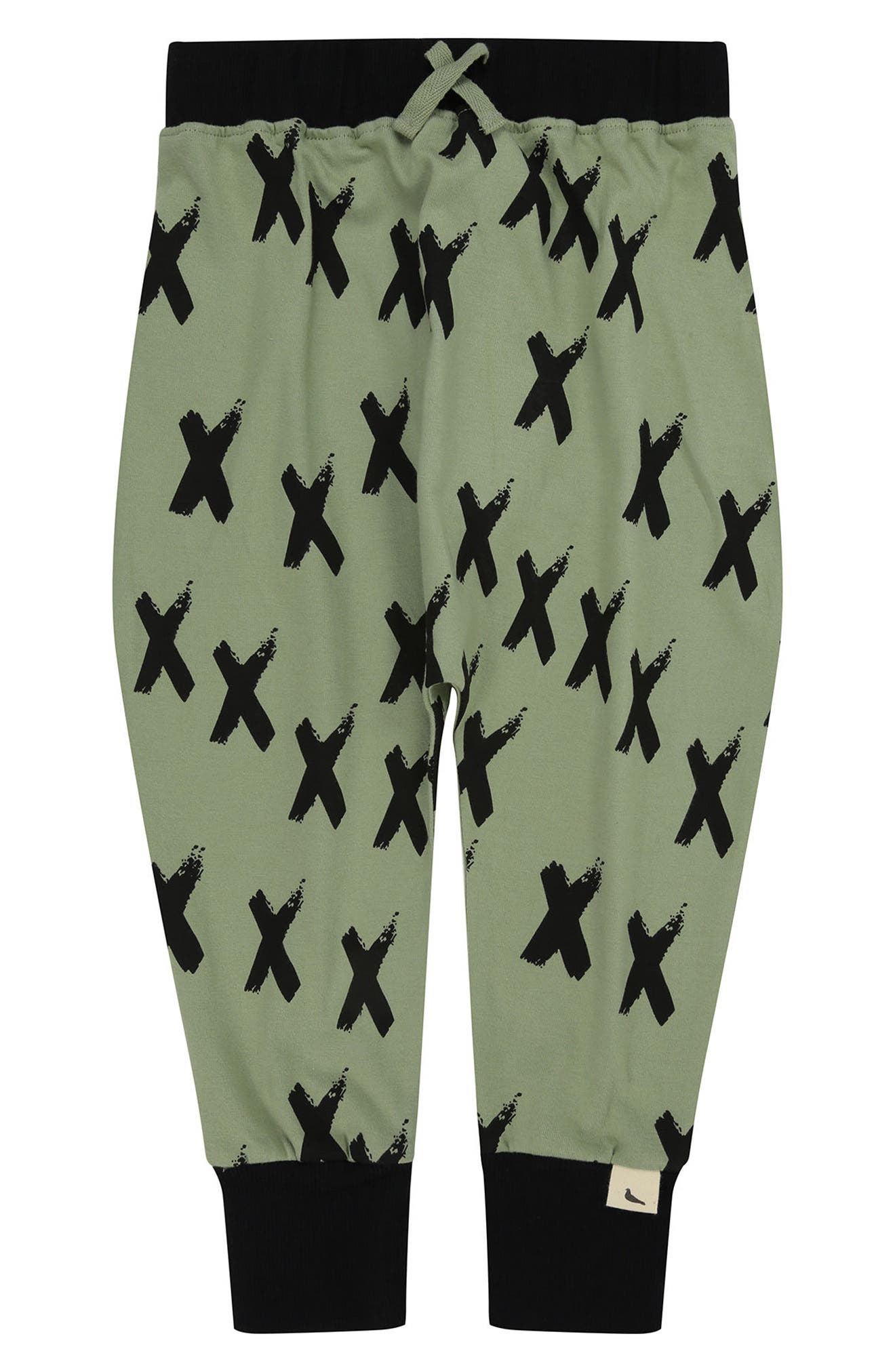 Kiss Hello Print Harem Pants,                         Main,                         color, Sage