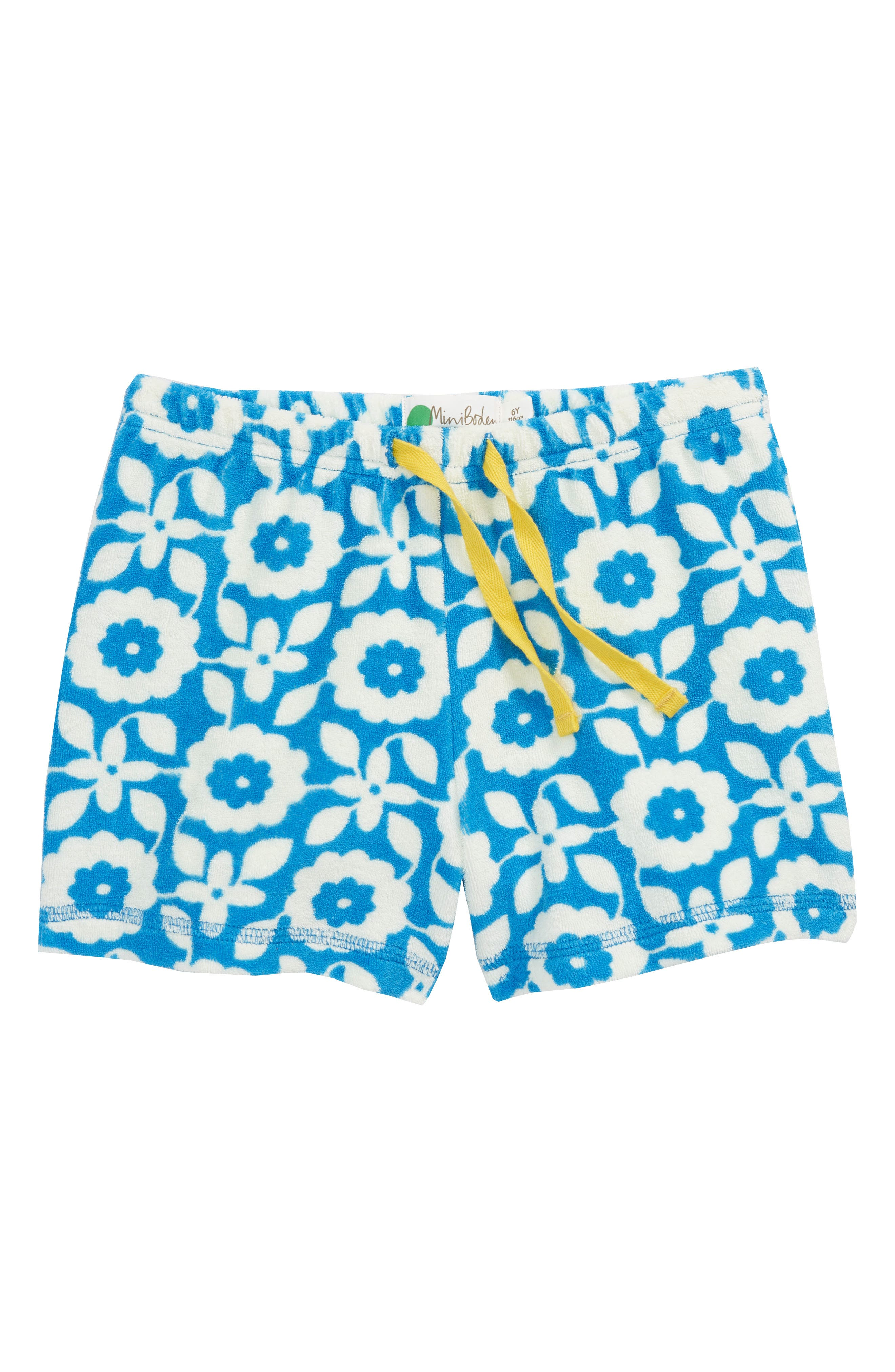 Mini Boden Adventure Toweling Shorts (Toddler Girls, Little Girls & Big Girls)