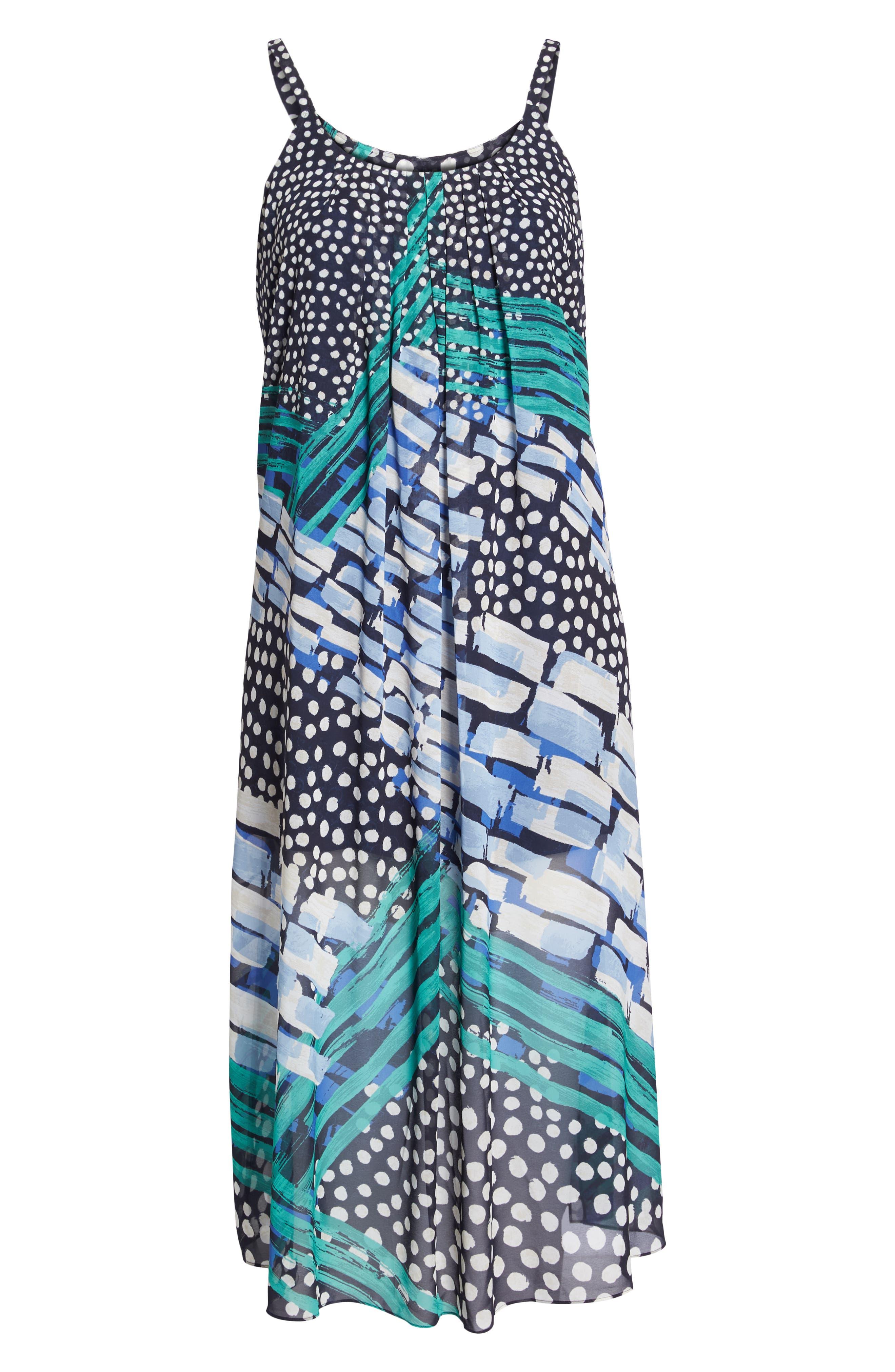 Bloom Me Away Print Maxi Dress,                             Alternate thumbnail 7, color,                             Multi