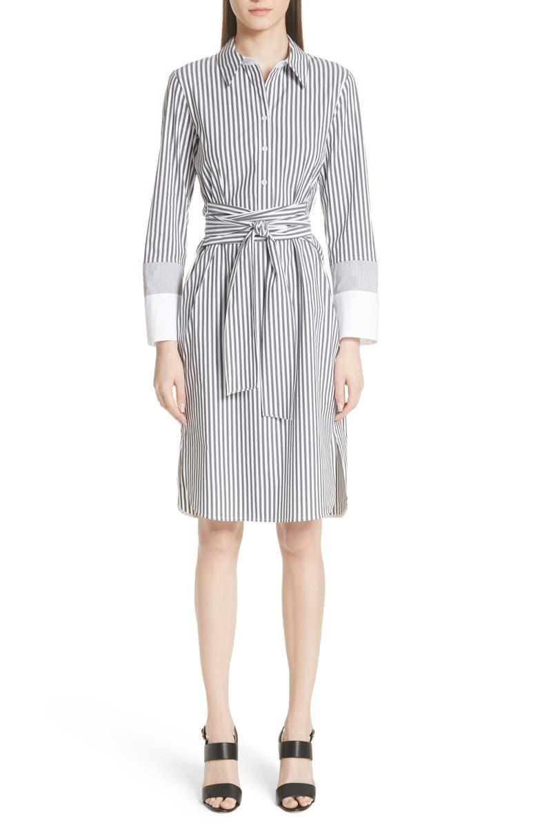 Fabiola Saxony Stripe Dress