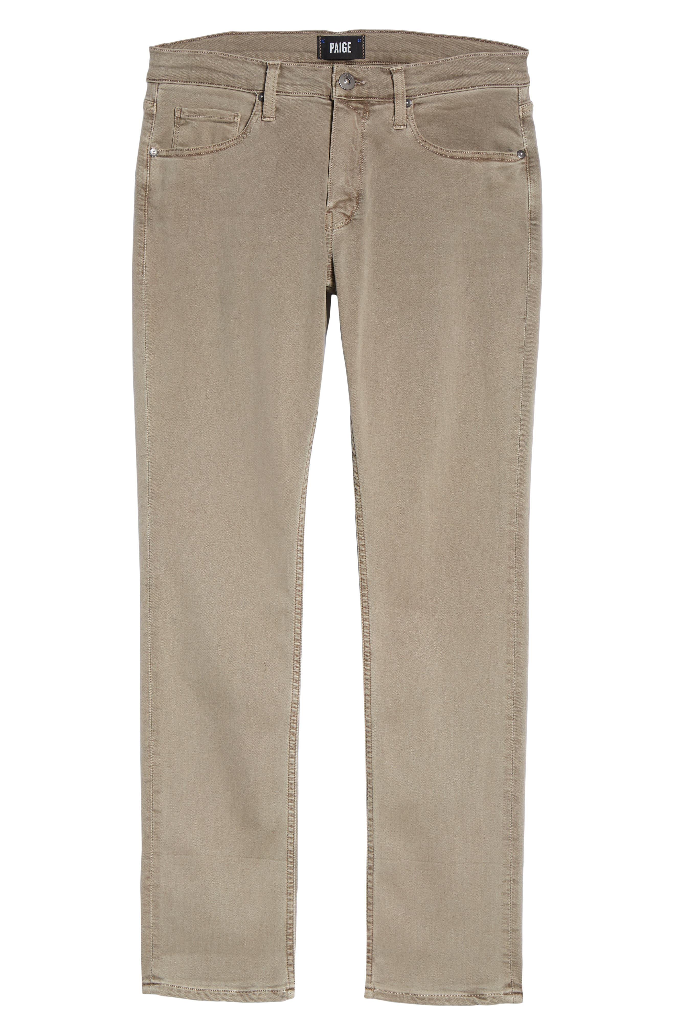 Federal Slim Straight Leg Jeans,                             Alternate thumbnail 6, color,                             Vintage Mushroom