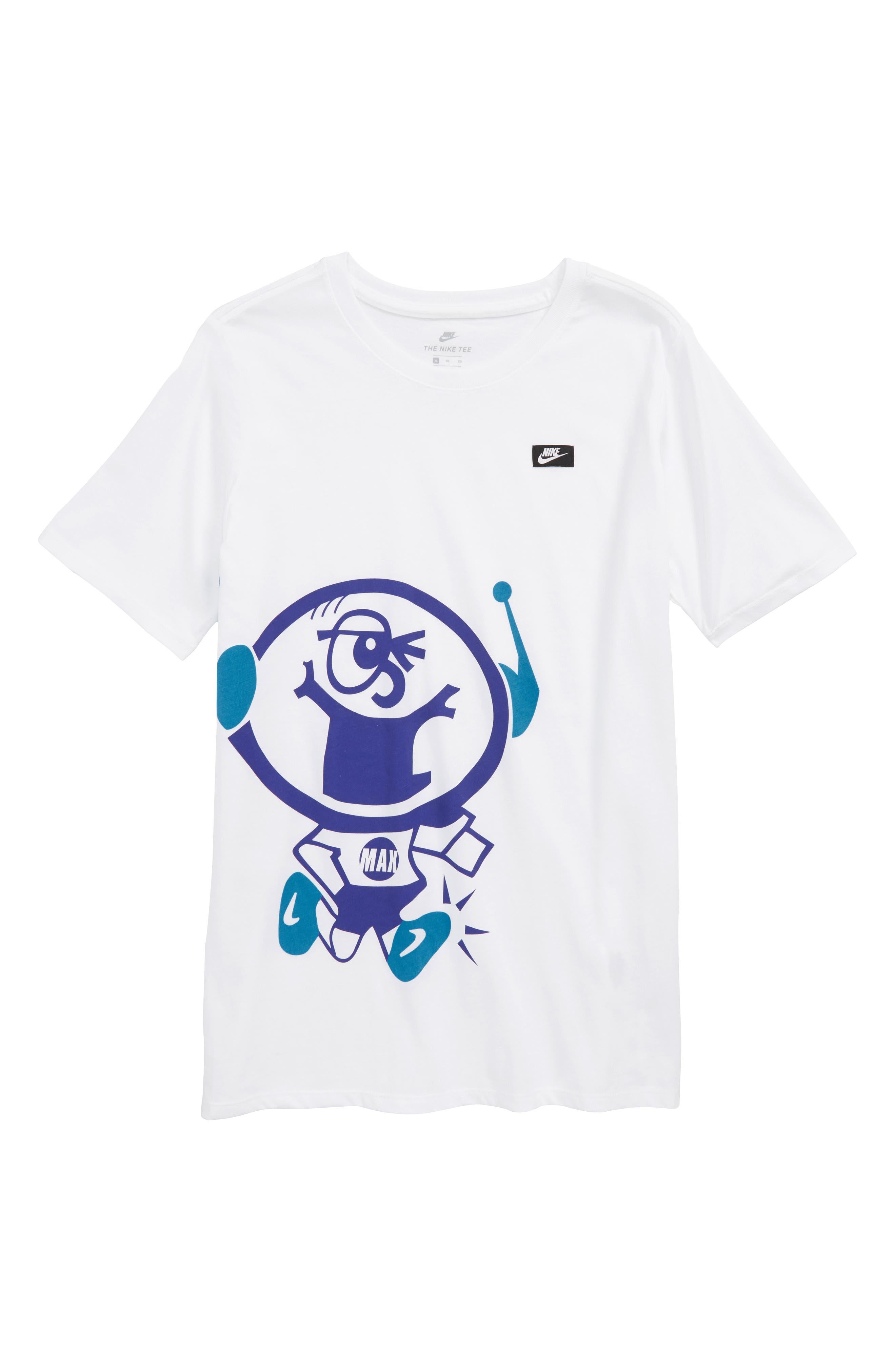 Sportswear Air Max Graphic T-Shirt,                             Main thumbnail 1, color,                             White