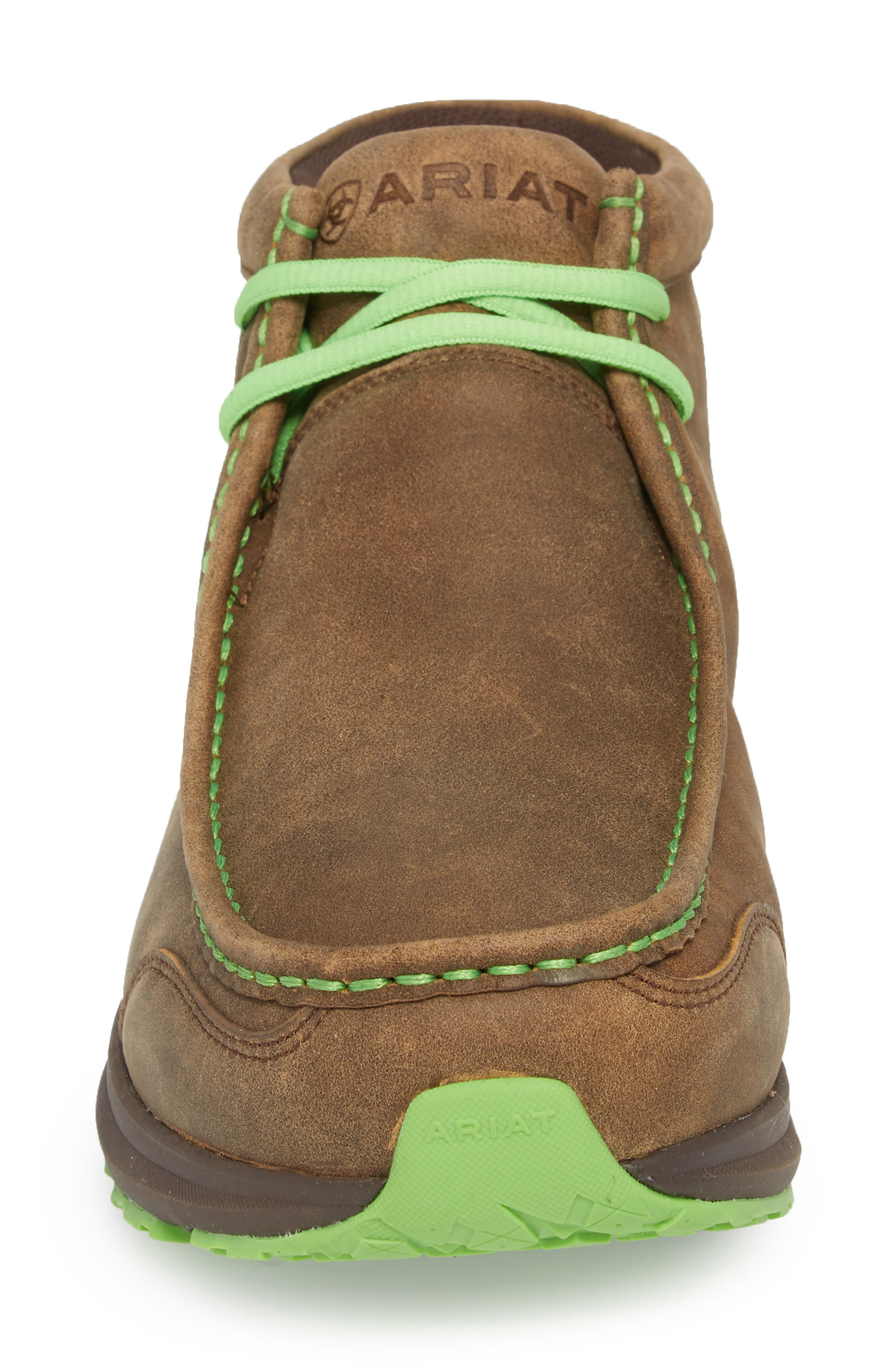 Spitfire Chukka Boot,                             Alternate thumbnail 4, color,                             Brown Bomber Leather