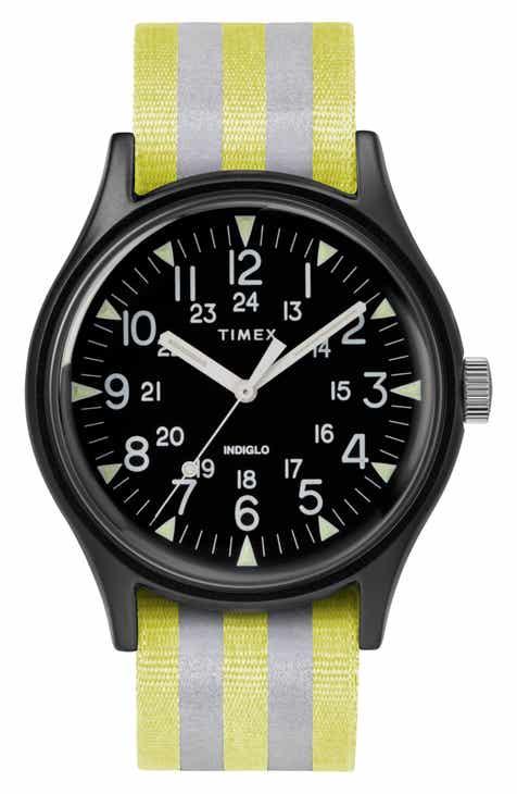 5611929c42ec Timex® MK1 Nylon Strap Watch