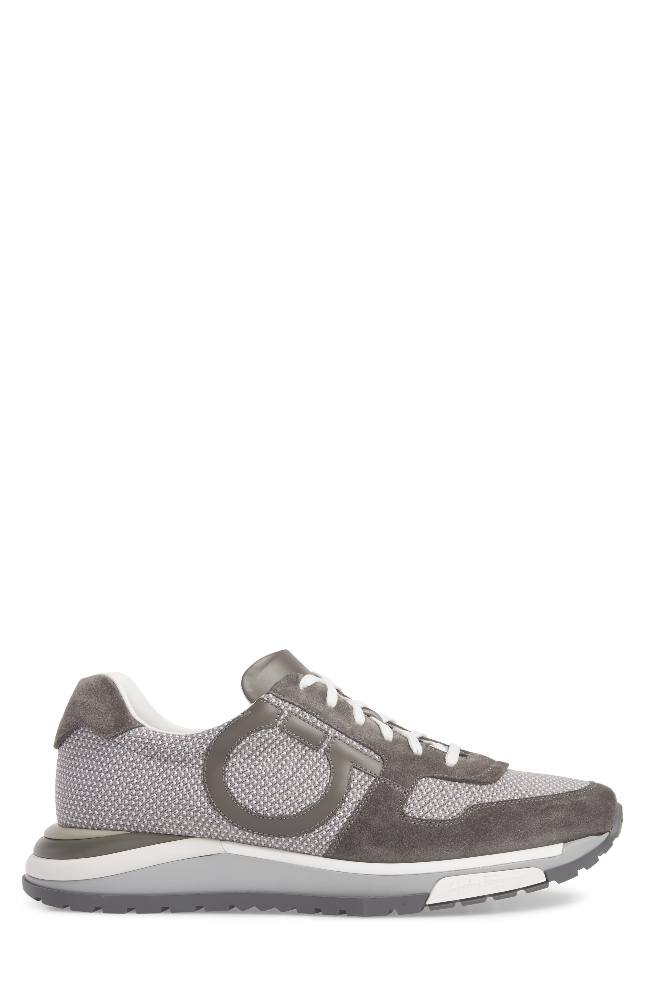 Brooklyn 2 Woven Sneaker,                             Alternate thumbnail 3, color,                             Grey