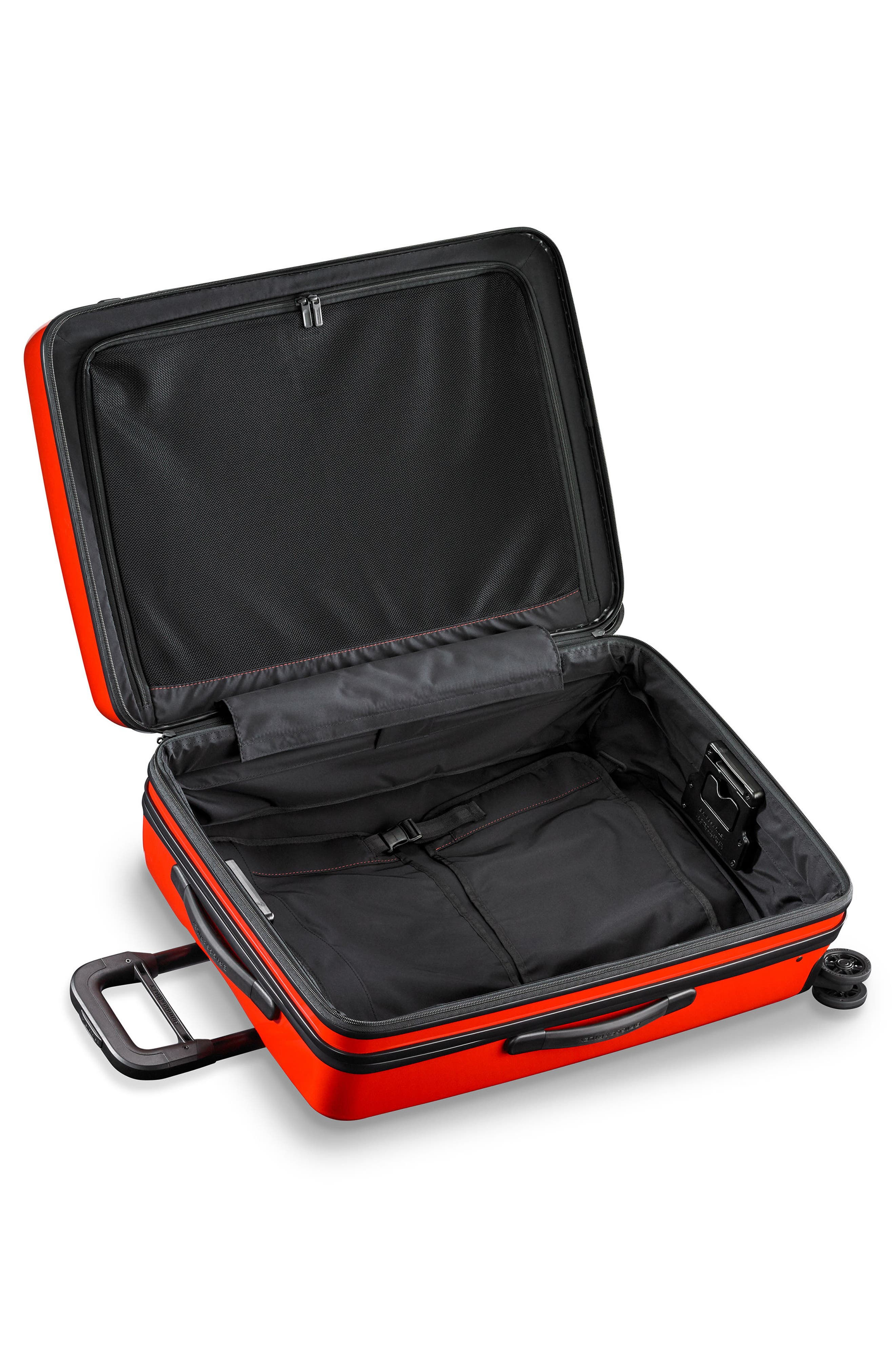 Sympatico 27-Inch Expandable Wheeled Packing Case,                             Alternate thumbnail 3, color,                             Fire