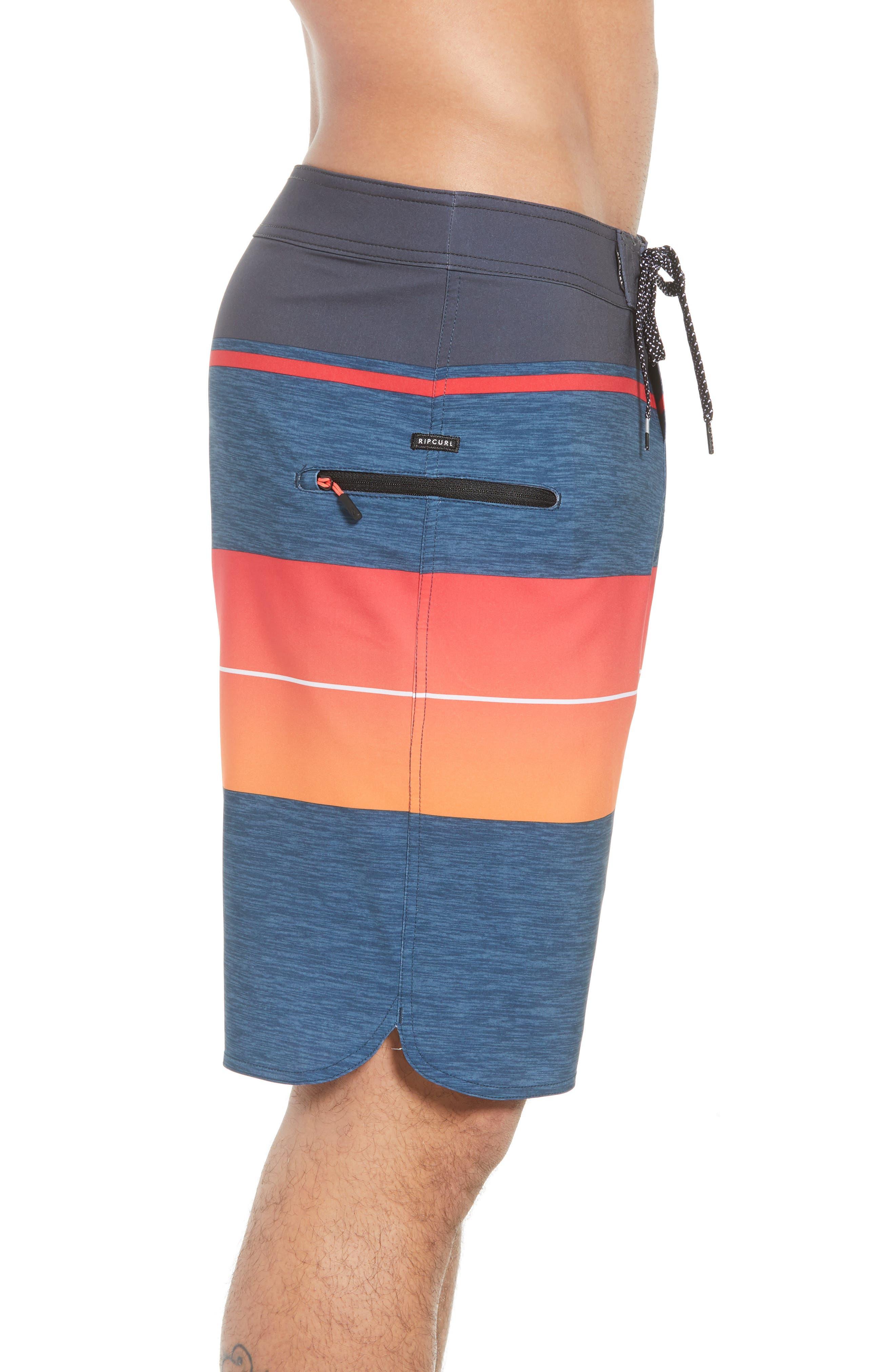 Mirage Eclipse Board Shorts,                             Alternate thumbnail 4, color,                             Orange