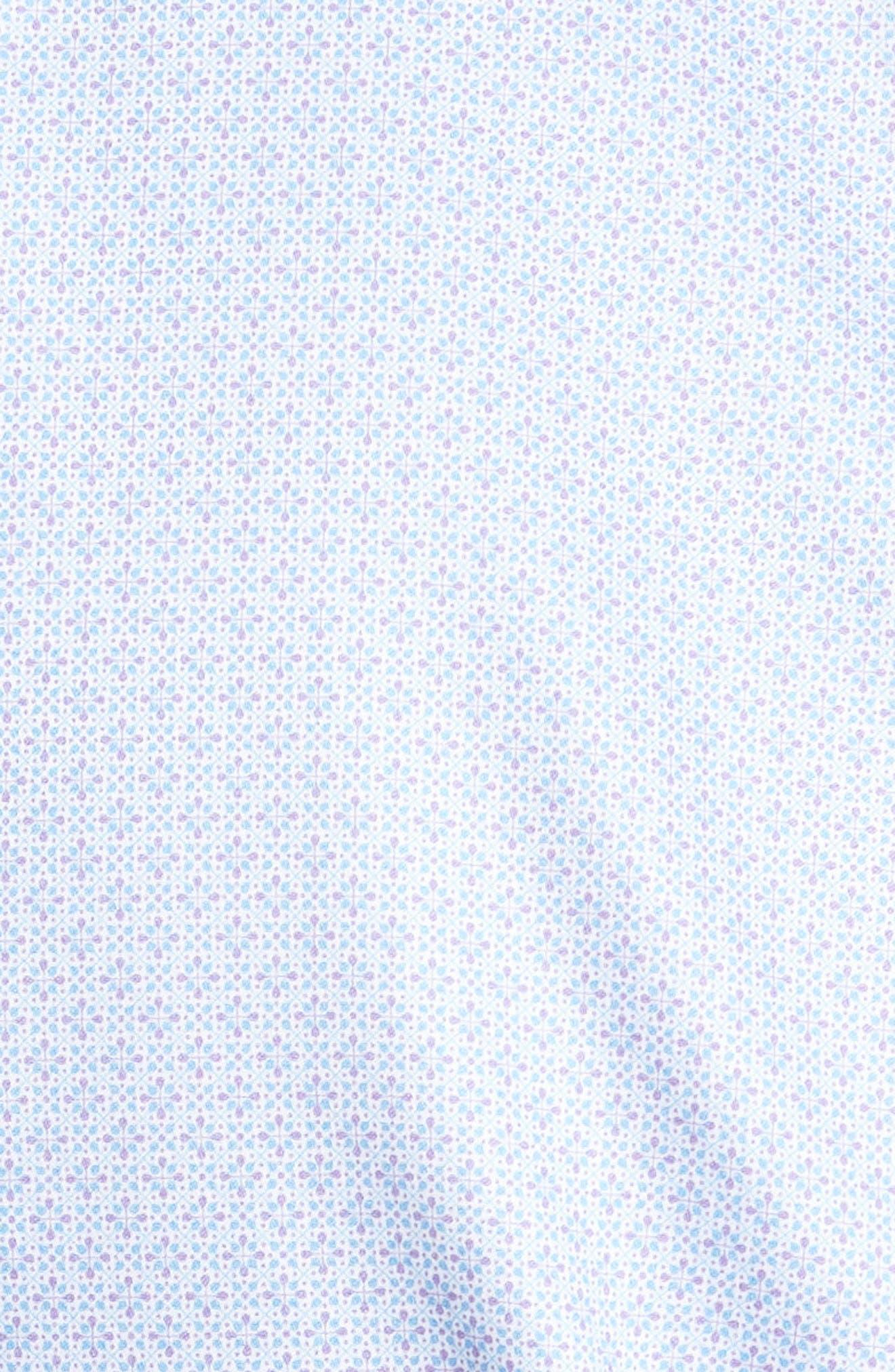 Mod Haze Sport Shirt,                             Alternate thumbnail 5, color,                             Jellyfish