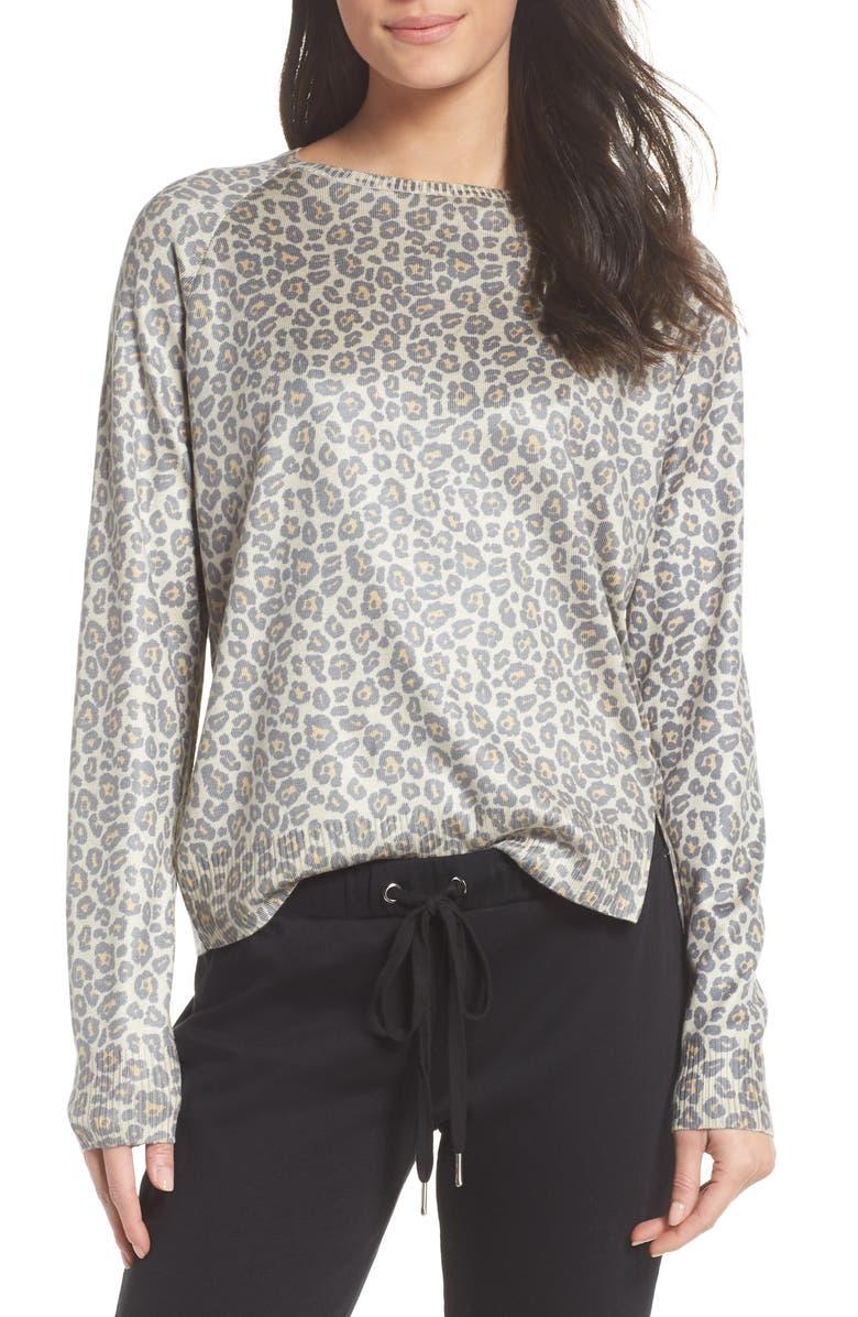 Ragdoll Leopard Print Sweatshirt | Nordstrom
