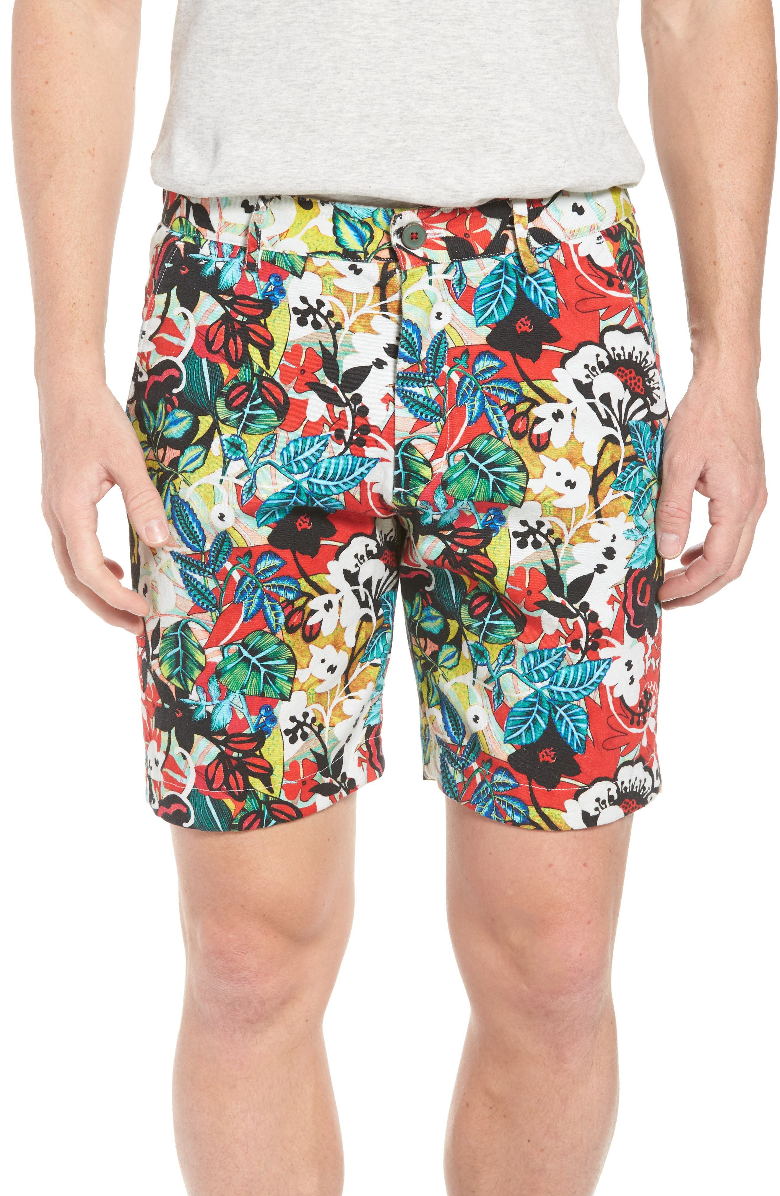 Robert Graham Habana Classic Fit Woven Shorts