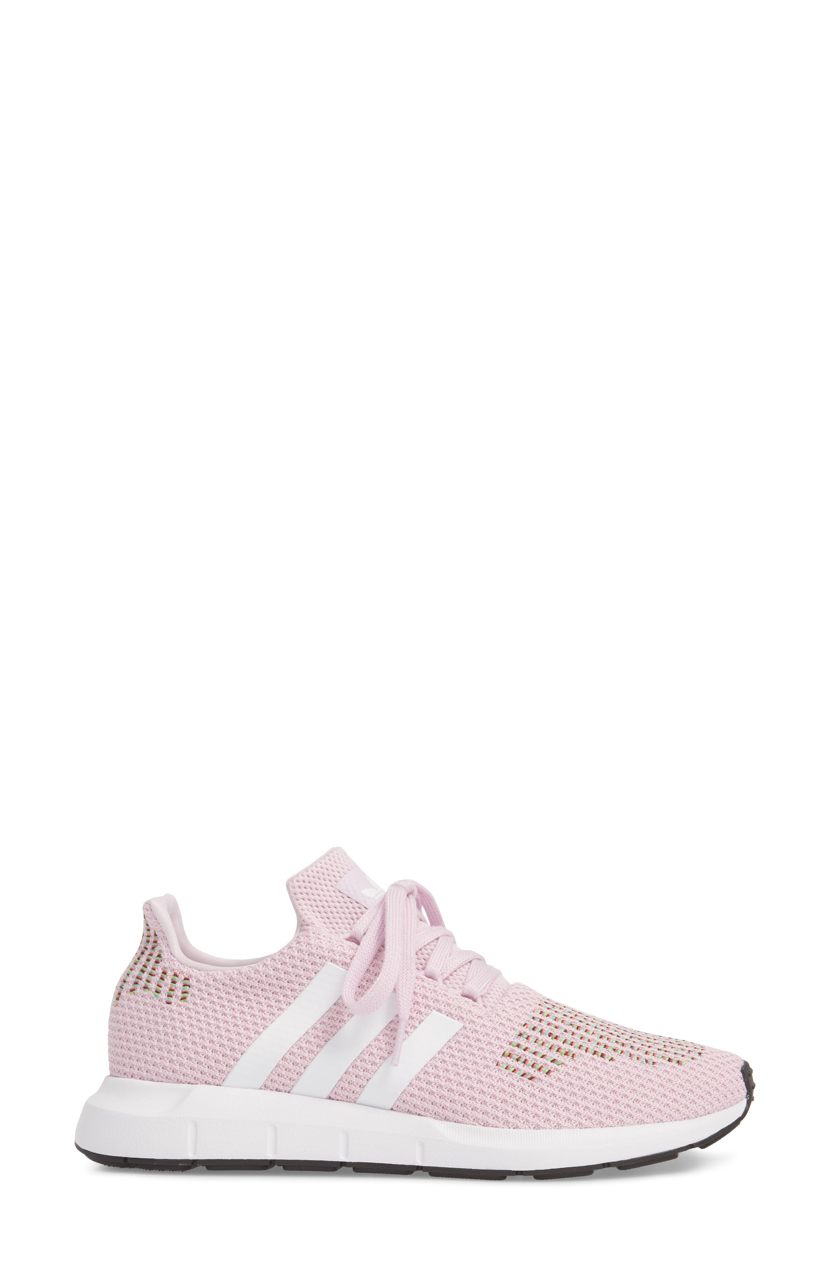 Swift Run Sneaker,                             Alternate thumbnail 3, color,                             Aero Pink/ White/ Core Black