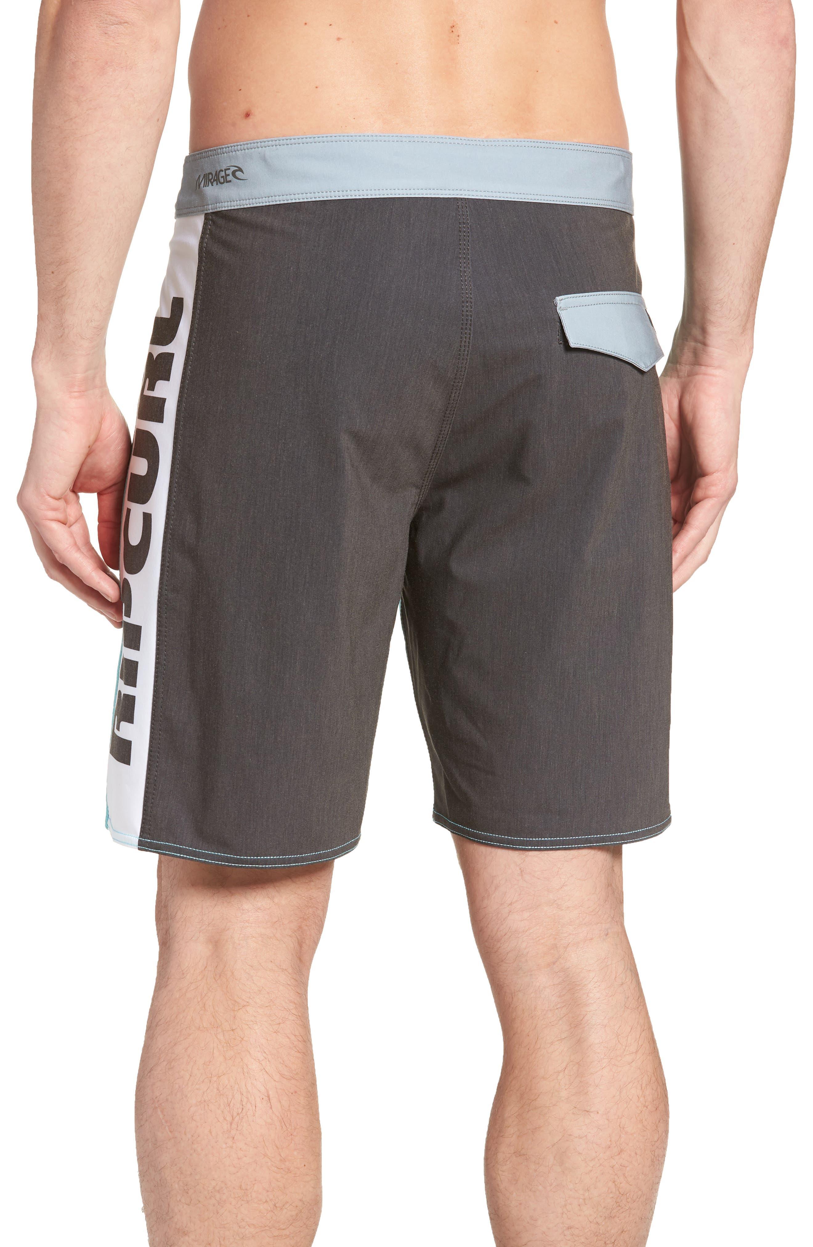 Mirage Owen Stretch Board Shorts,                             Alternate thumbnail 2, color,                             Aqua