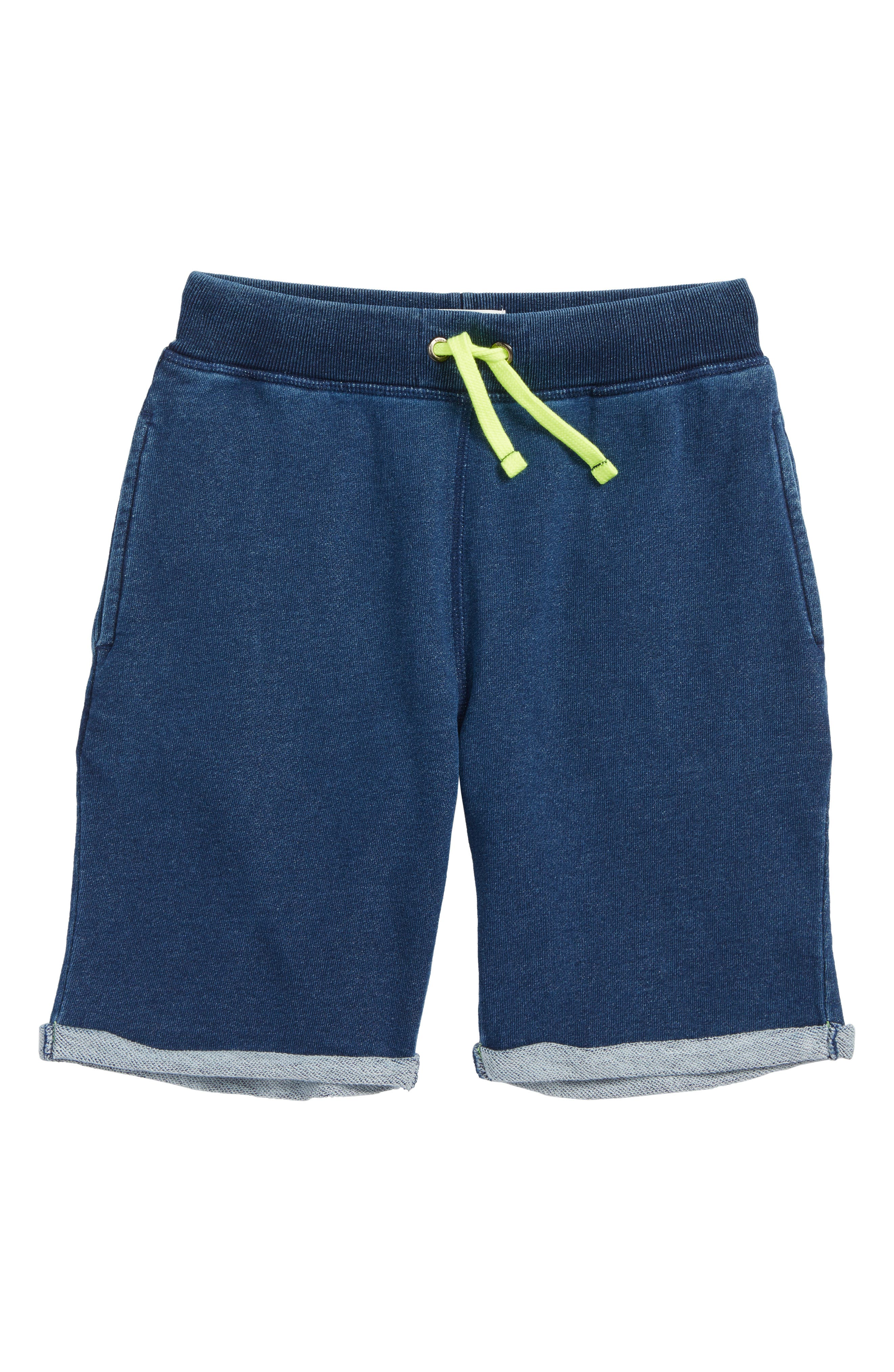 Mini Boden French Terry Shorts (Little Boys & Big Boys)