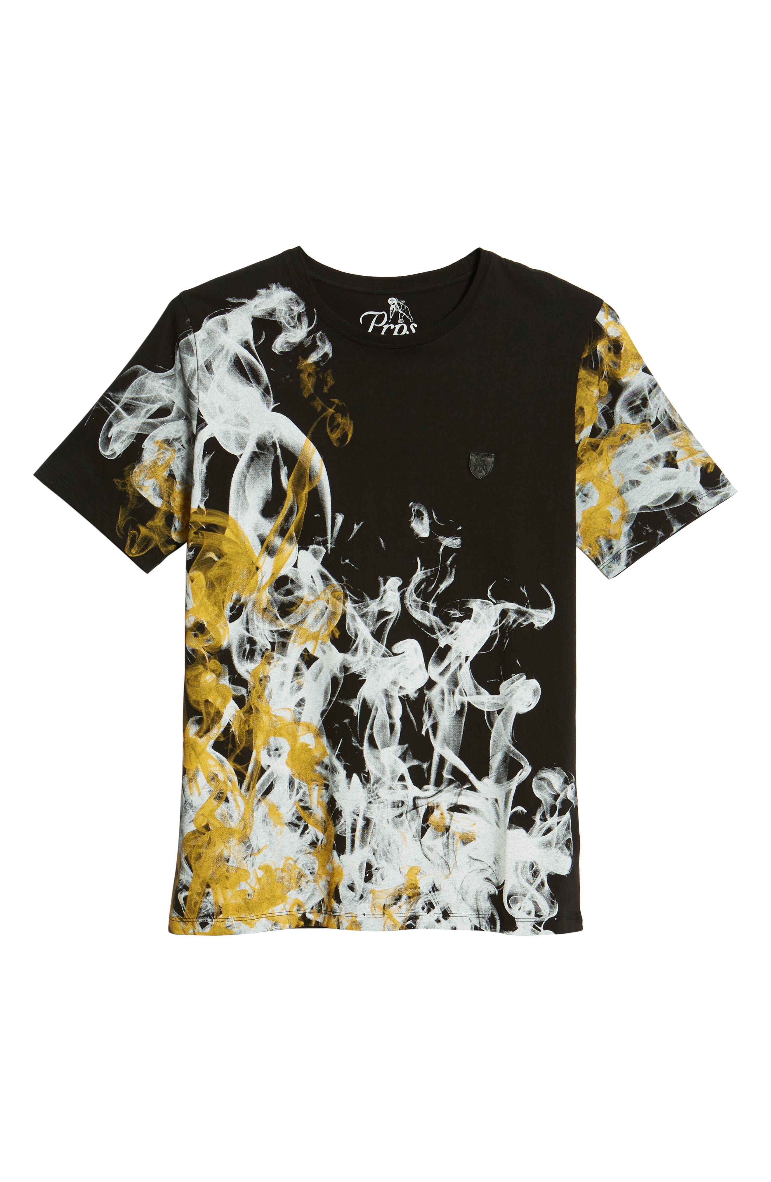 Graphic T-Shirt,                             Alternate thumbnail 6, color,                             Black