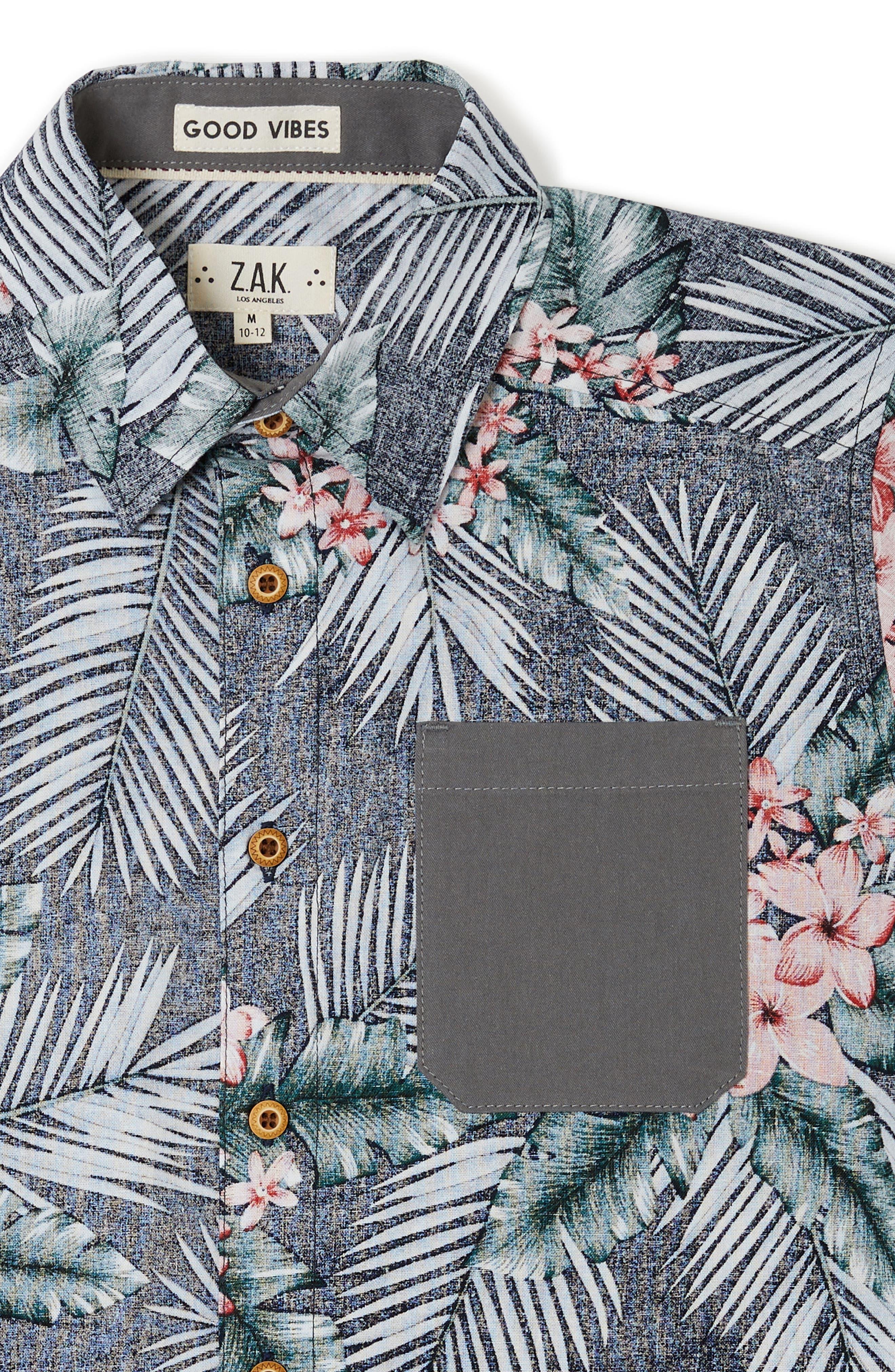 Miles Woven Shirt,                             Alternate thumbnail 2, color,                             Lilac