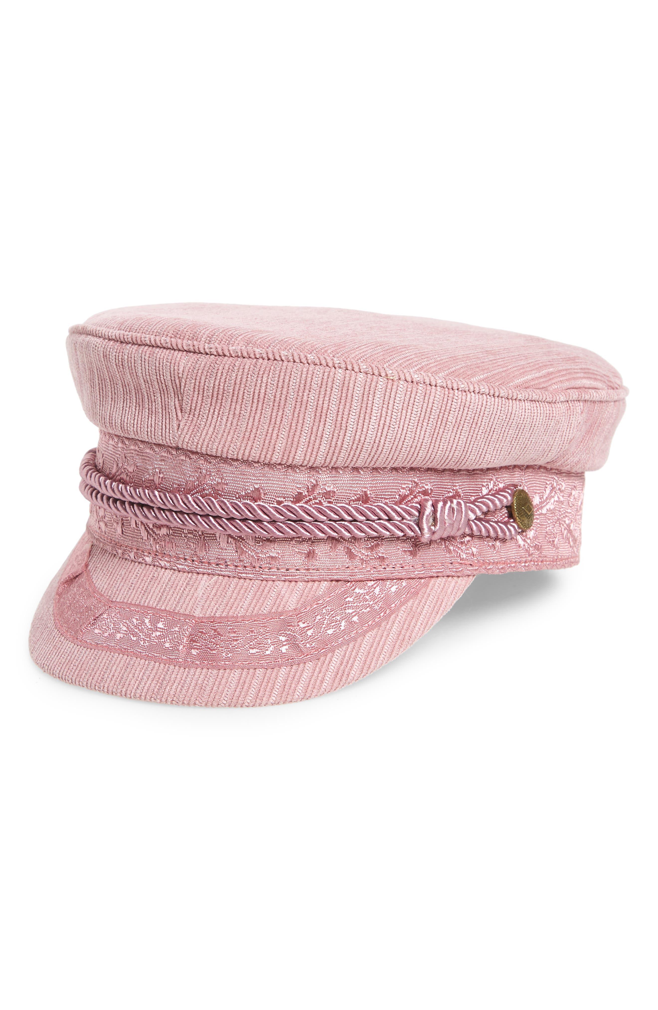 ALBANY CORDUROY FISHERMAN CAP - PINK