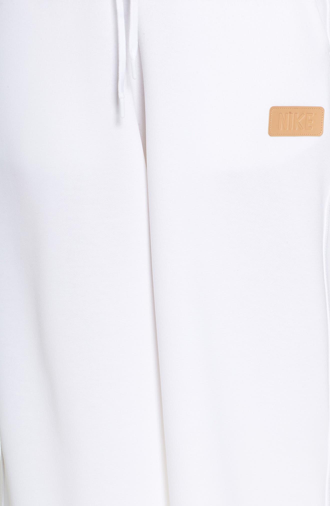 Sportswear Beautiful x Powerful Crop Pants,                             Alternate thumbnail 6, color,                             White