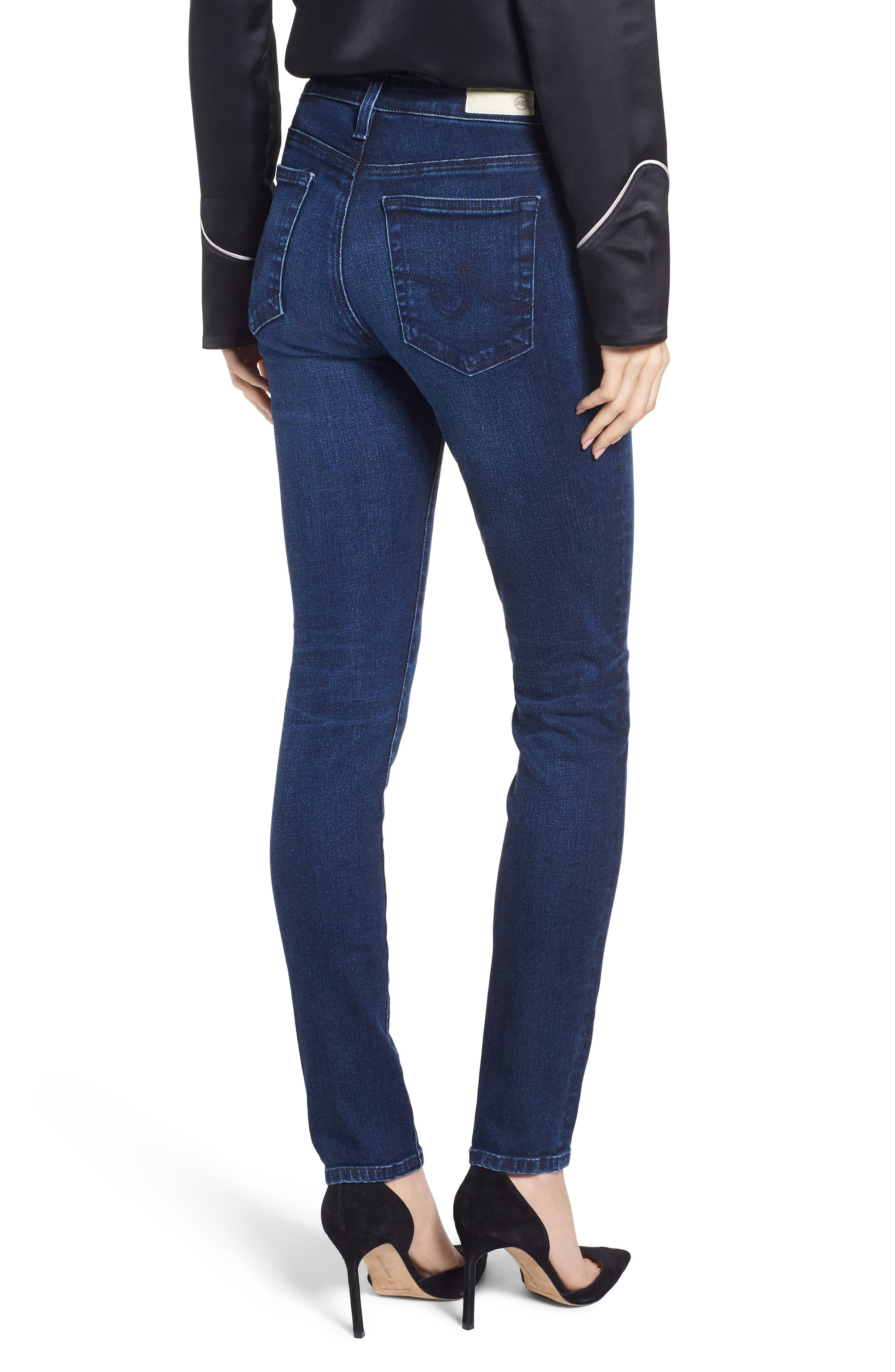 Prima Skinny Jeans,                             Alternate thumbnail 2, color,                             04 Years Celestial