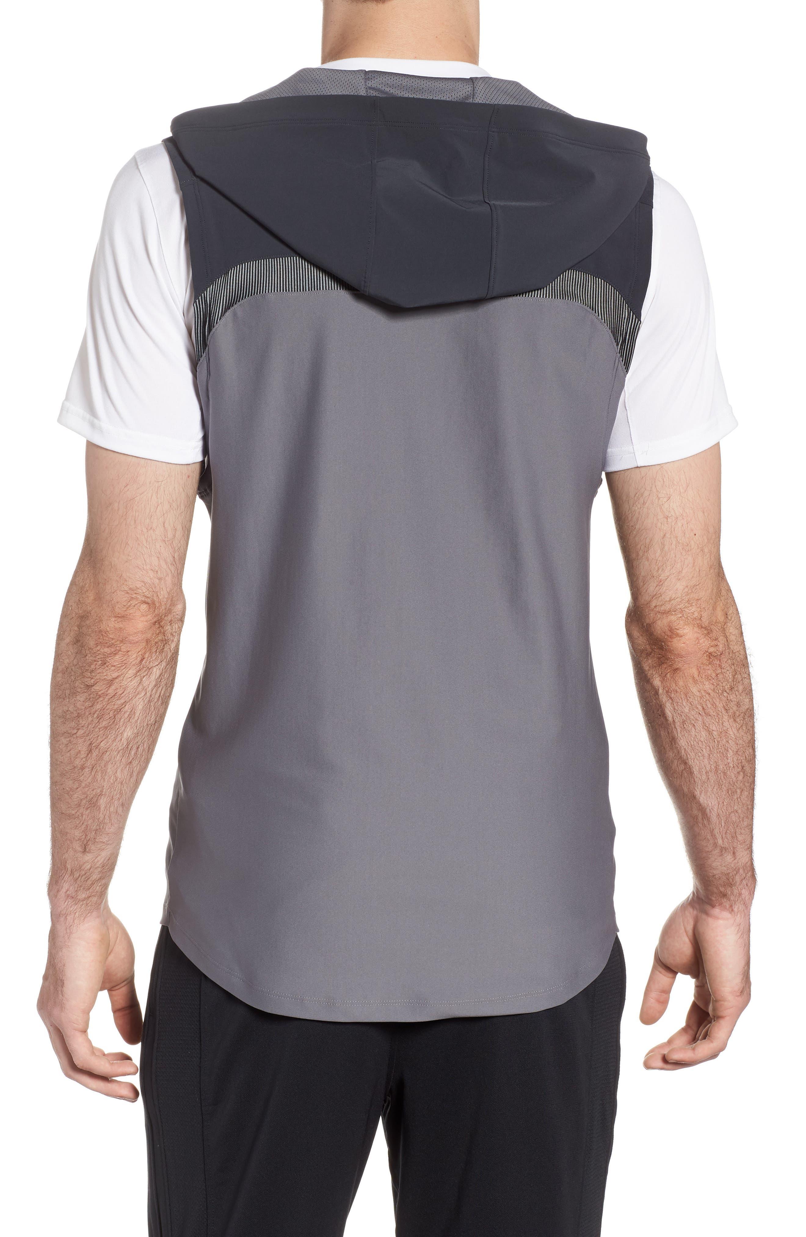Threadborne Vanish Vest,                             Alternate thumbnail 2, color,                             Anthracite / Graphite/ Iron