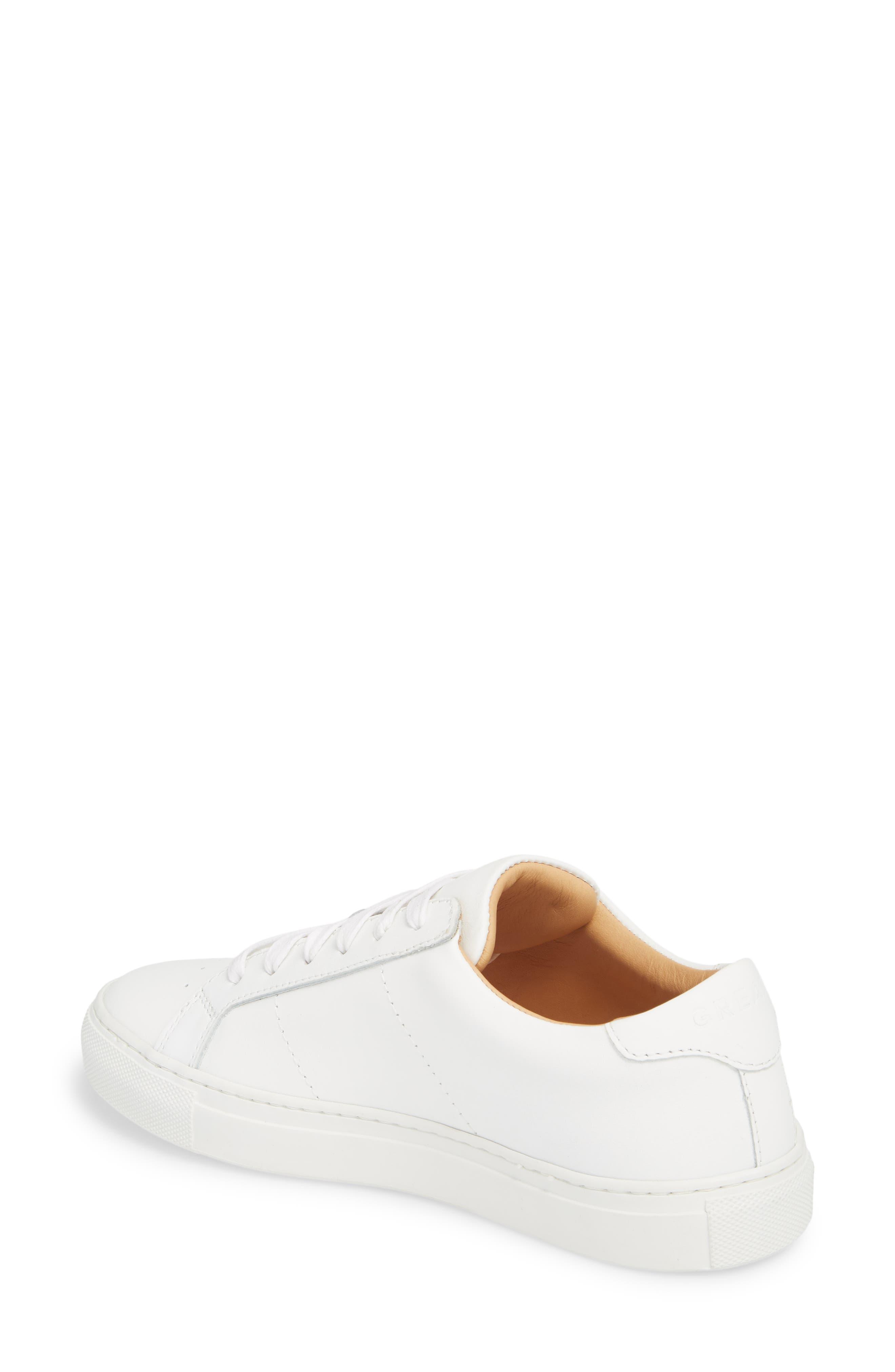 Royale Sneaker,                             Alternate thumbnail 2, color,                             White Flat Leather