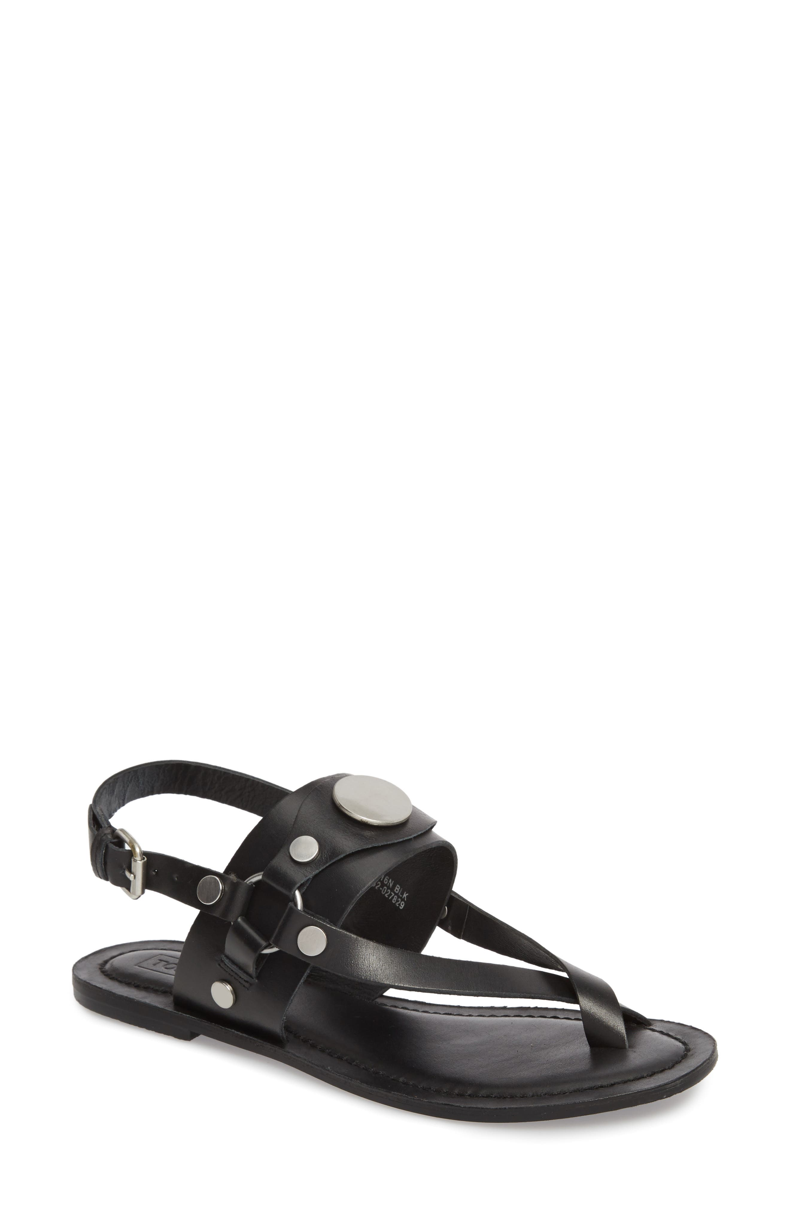 Fate Sandal,                         Main,                         color, Black Multi